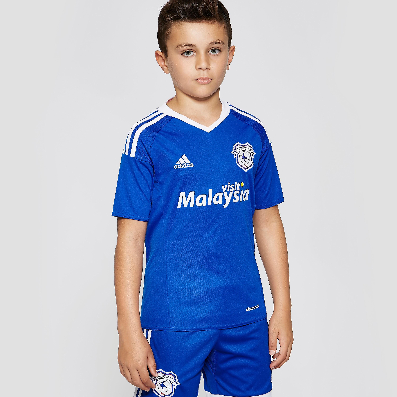 adidas Cardiff City FC 2016/17 Home Shirt Junior