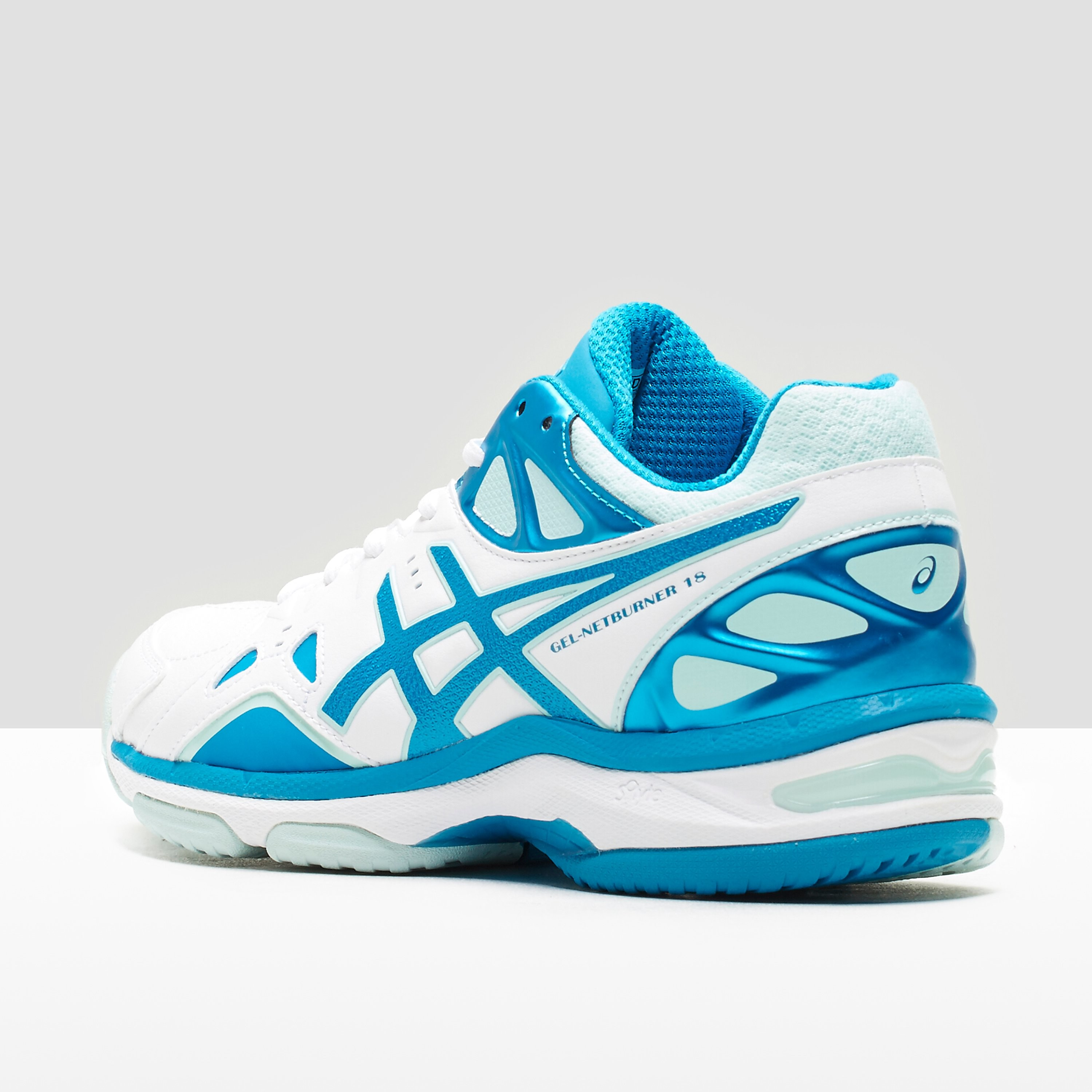 ASICS GEL-NETBURNER 18 (D) Ladies Netball Shoes