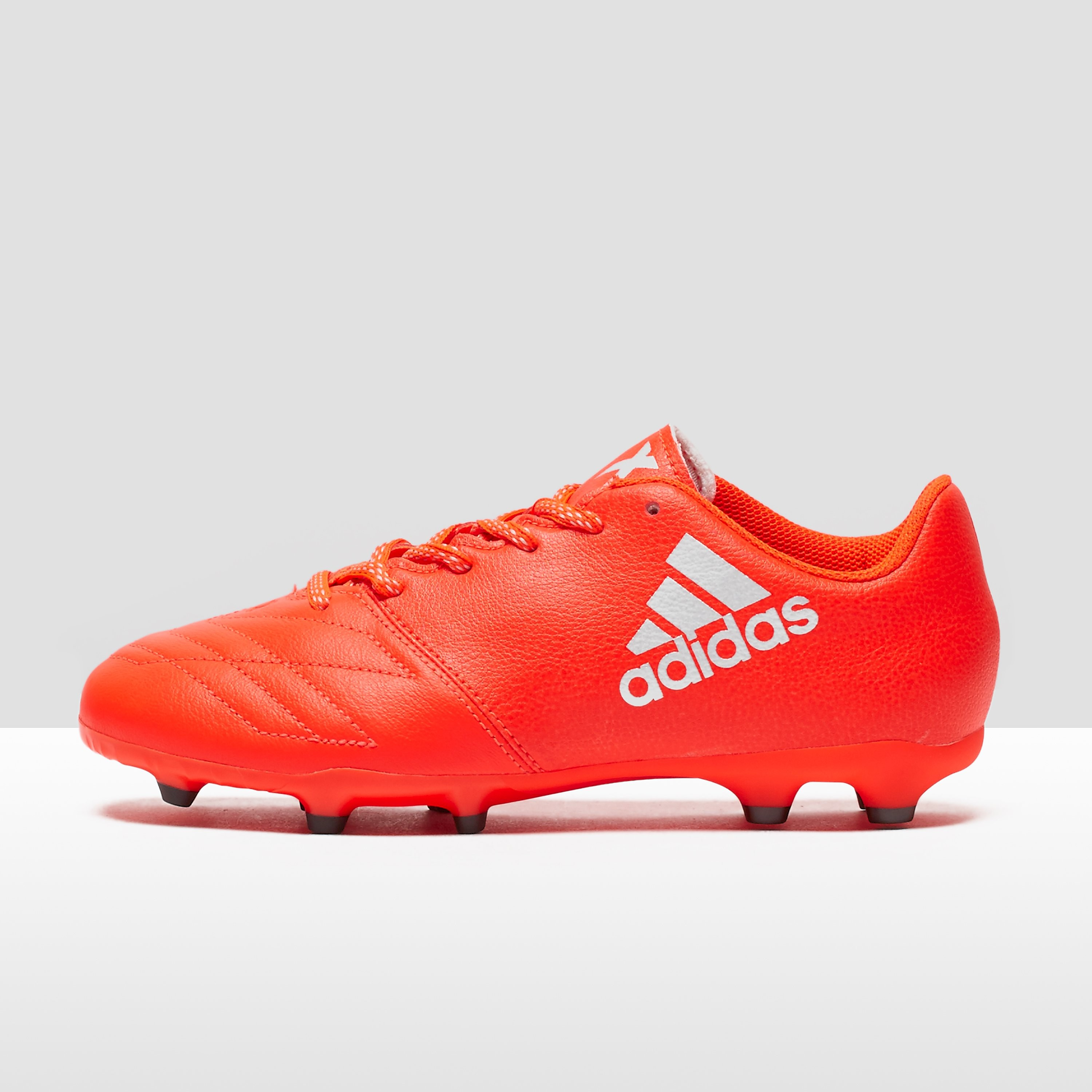 adidas X 16.3 Firm Ground Leather Junior Football Boots