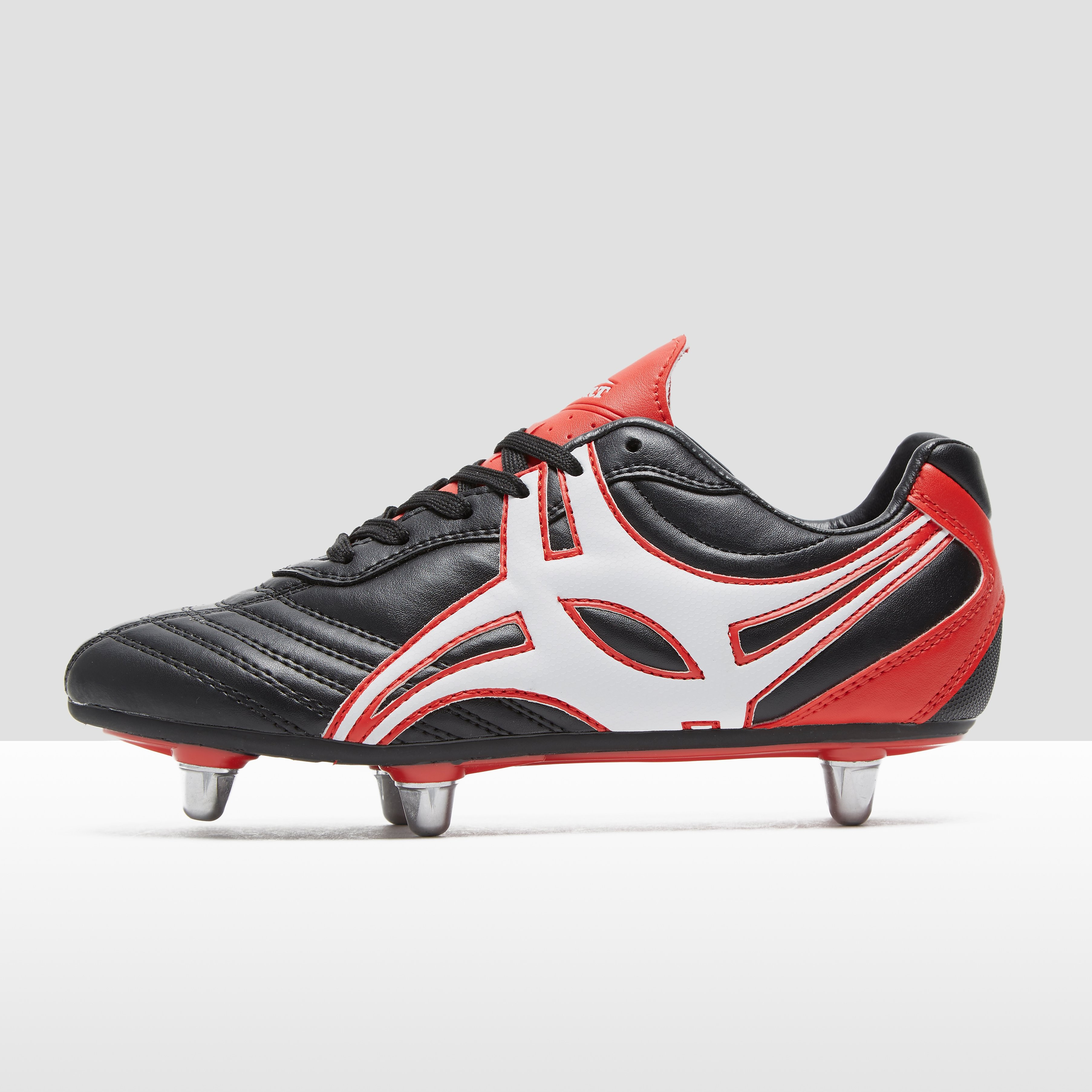 Gilbert Sidestep XV Low Cut Hard Toe 6S Junior Rugby Boots