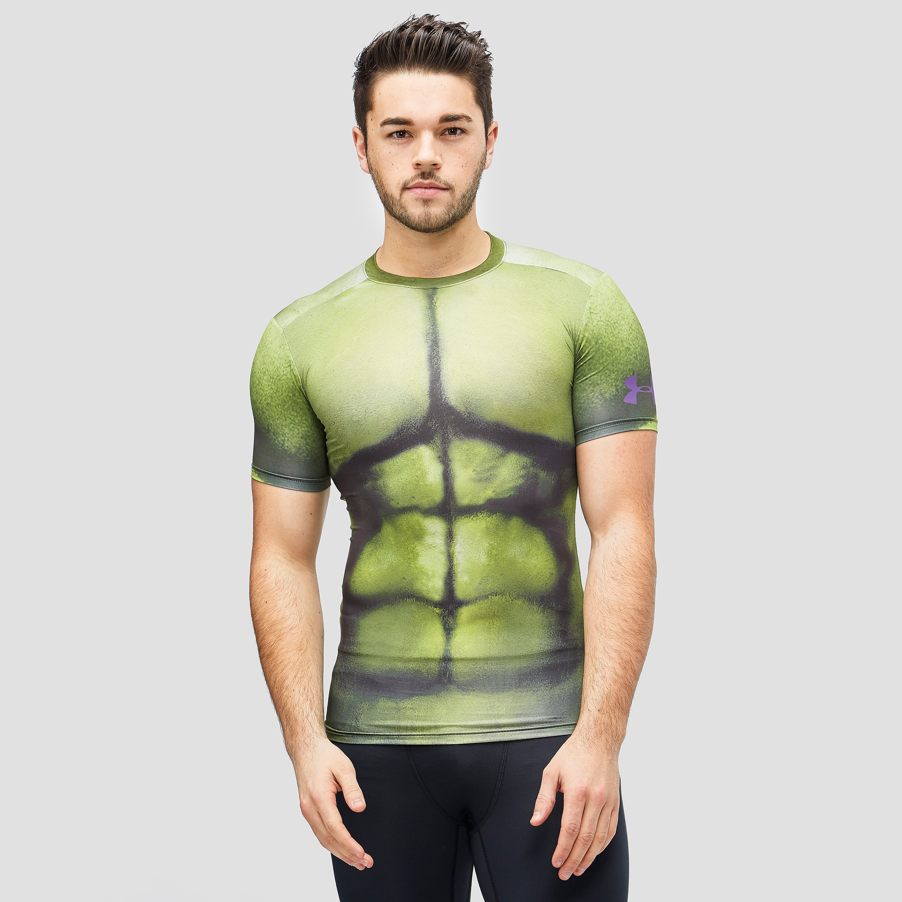 Under Armour Alter Ego Hulk Compression Short Sleeve T-Shirt