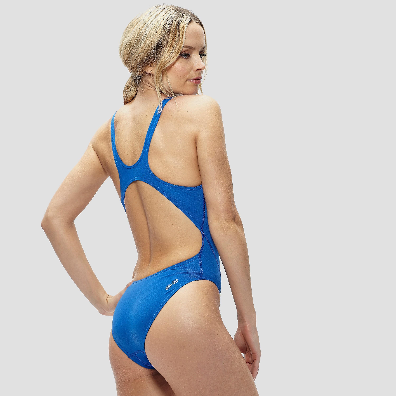 Arena Women's Solid Swim Tech High Swimsuit