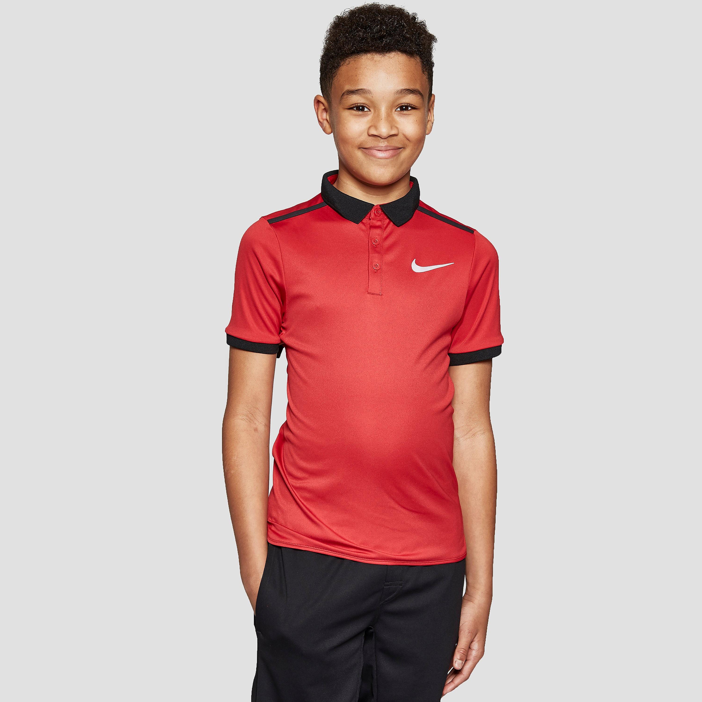 Nike Court Advantage Junior Tennis Polo Shirt