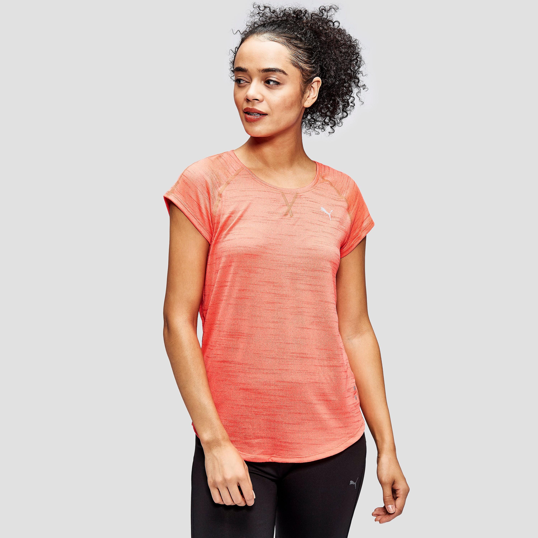 PUMA Women's Running Rebel-Run T-Shirt