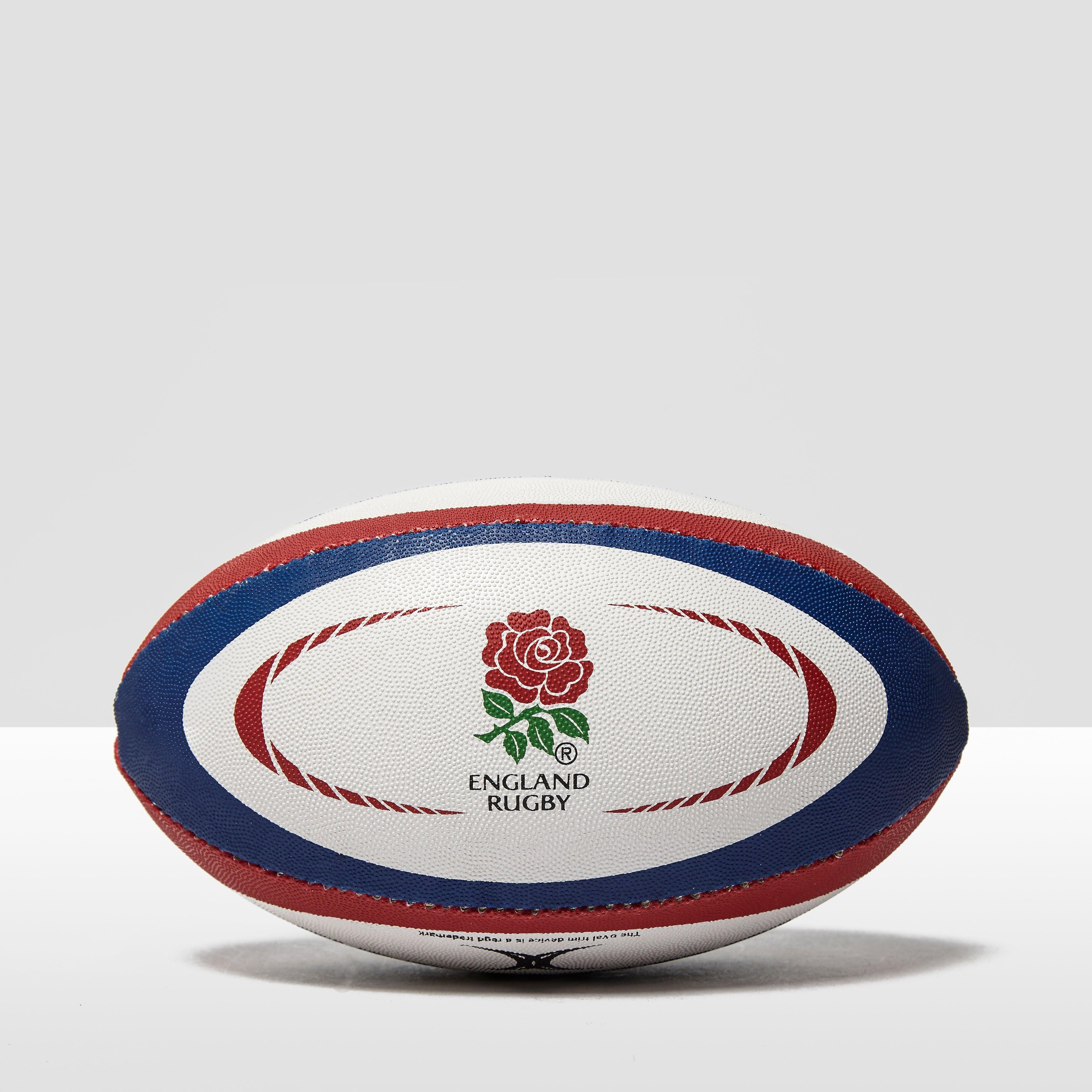 Gilbert England International Replica Midi Rugby Ball