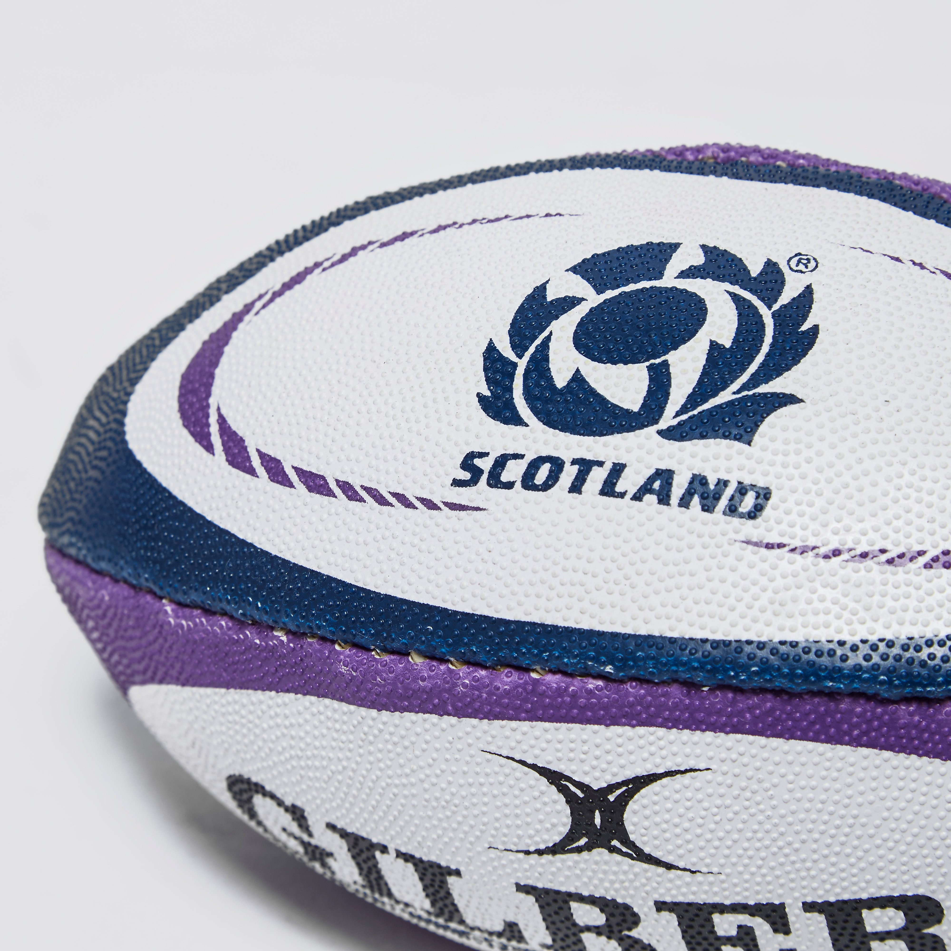 Gilbert Scotland Supporter Mini Rugby Ball