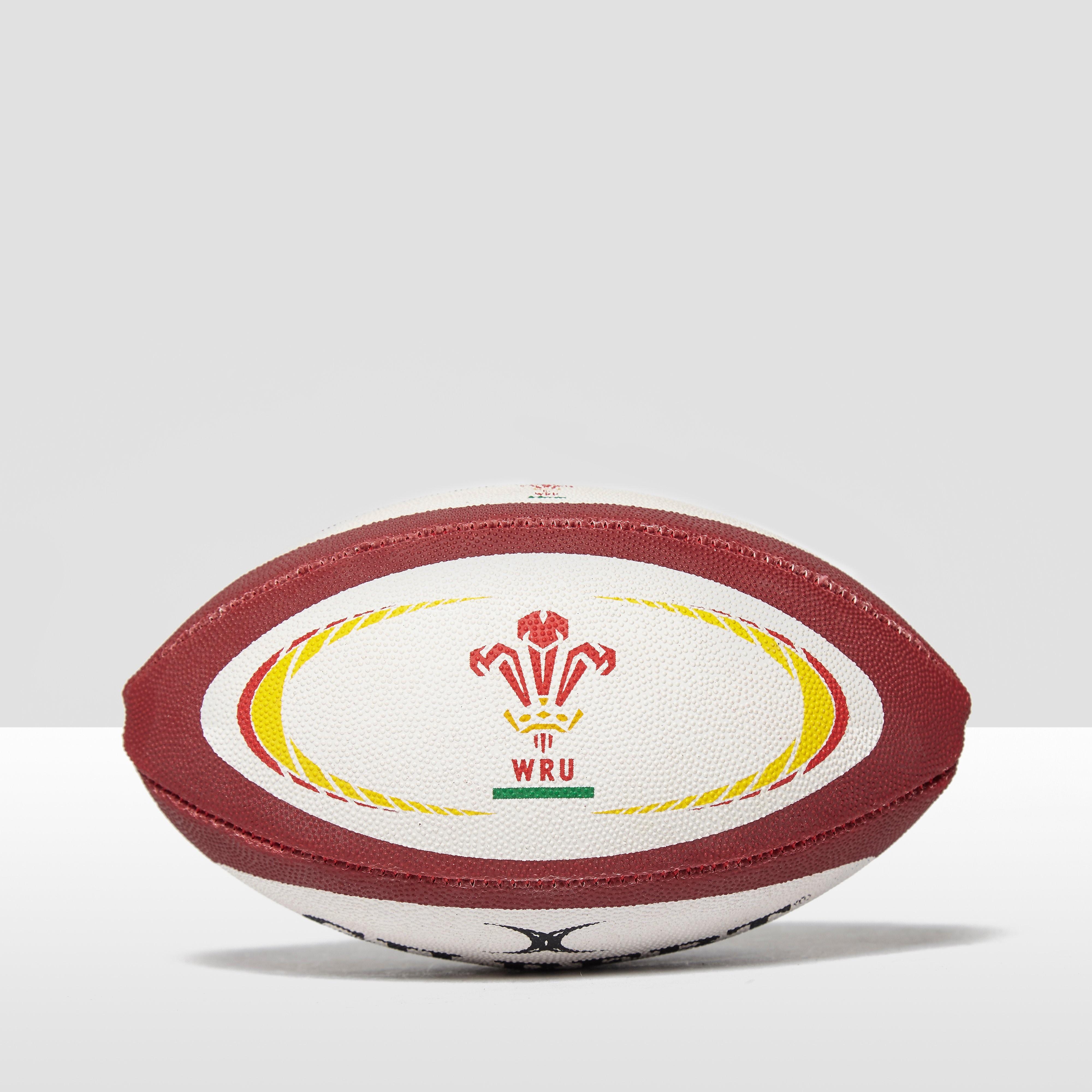 Gilbert Wales International Replica Mini Rugby Ball