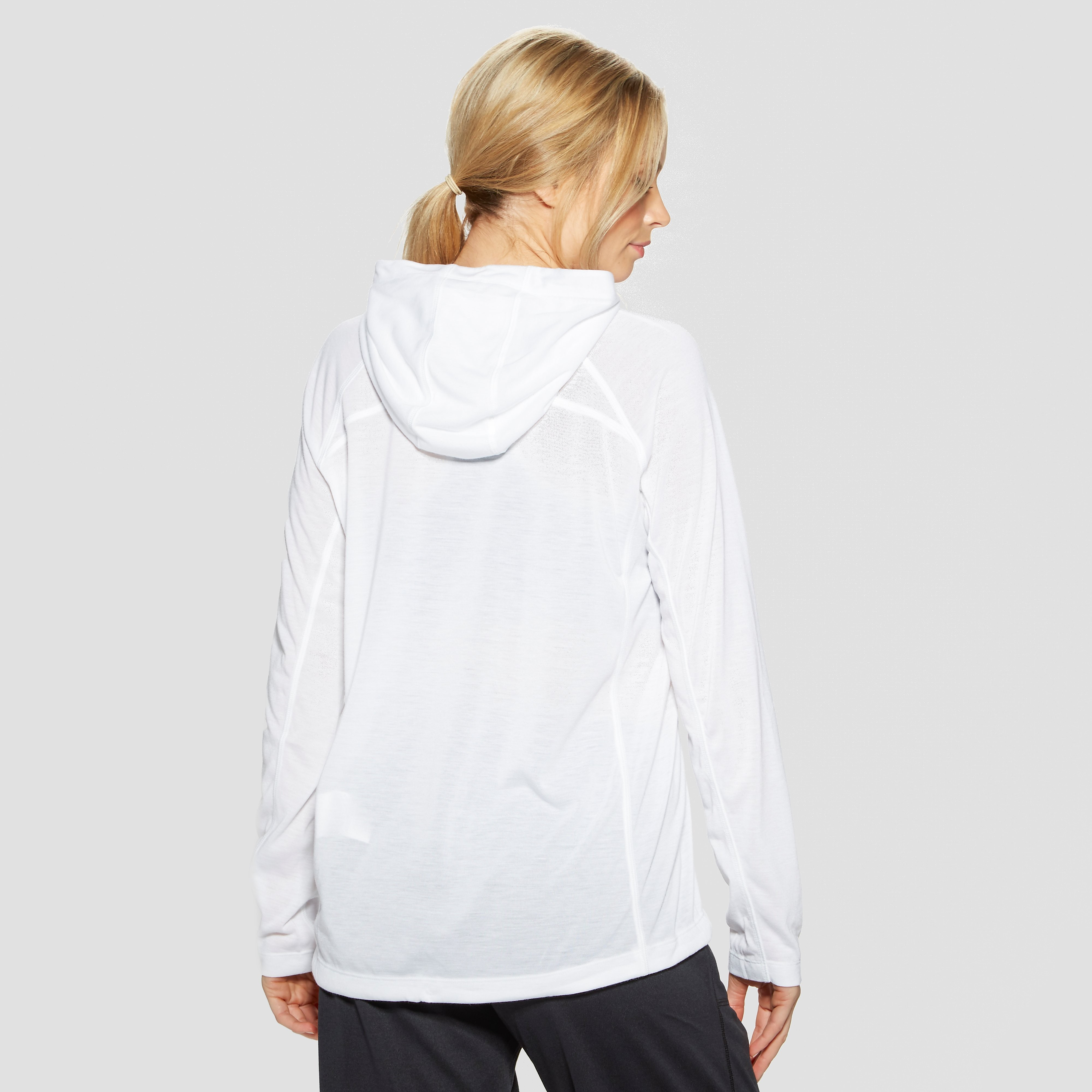 Under armour Threadborne Long Sleeve Hooded Women's Training Top