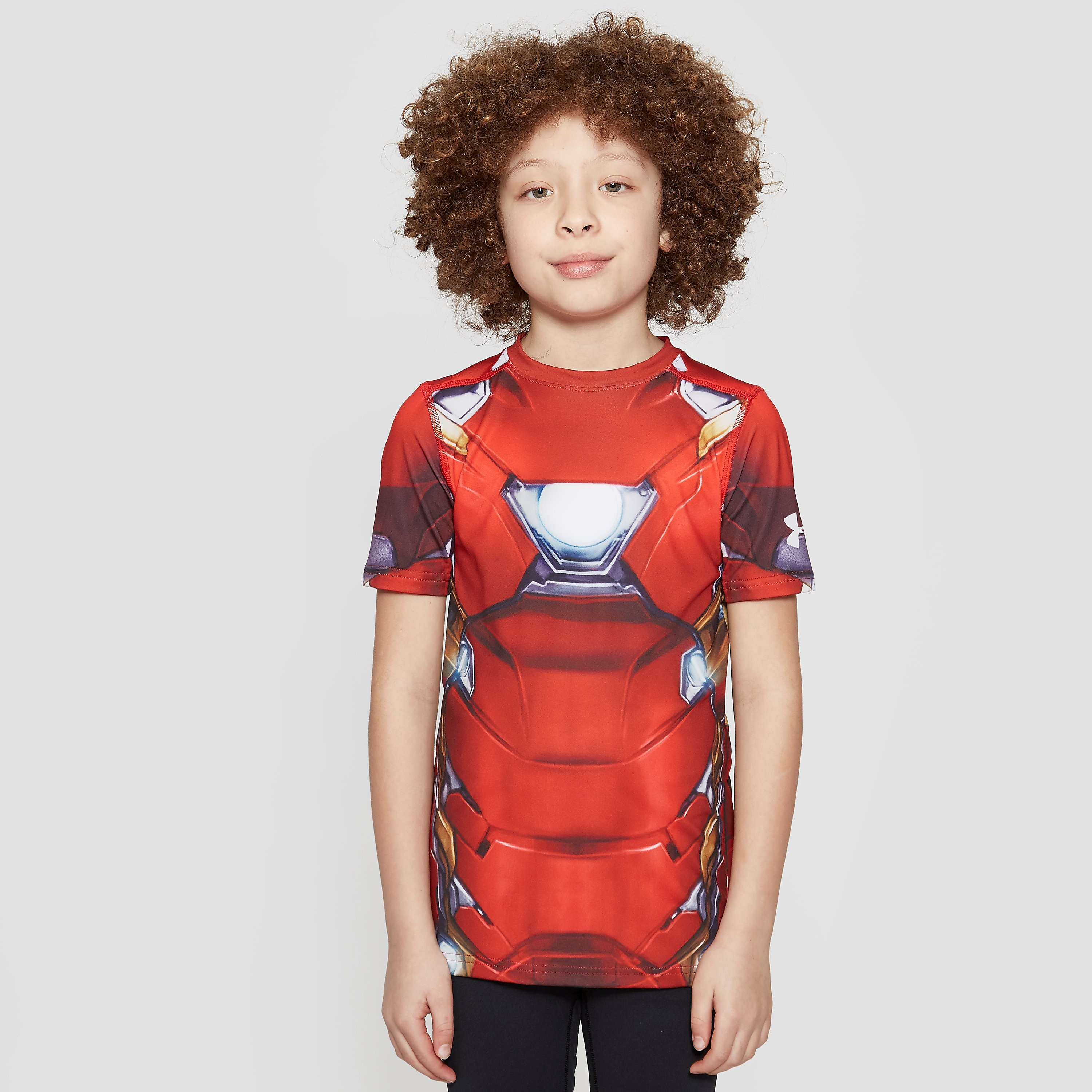 Under Armour Alter Ego Iron Man Junior Boy's T-Shirt