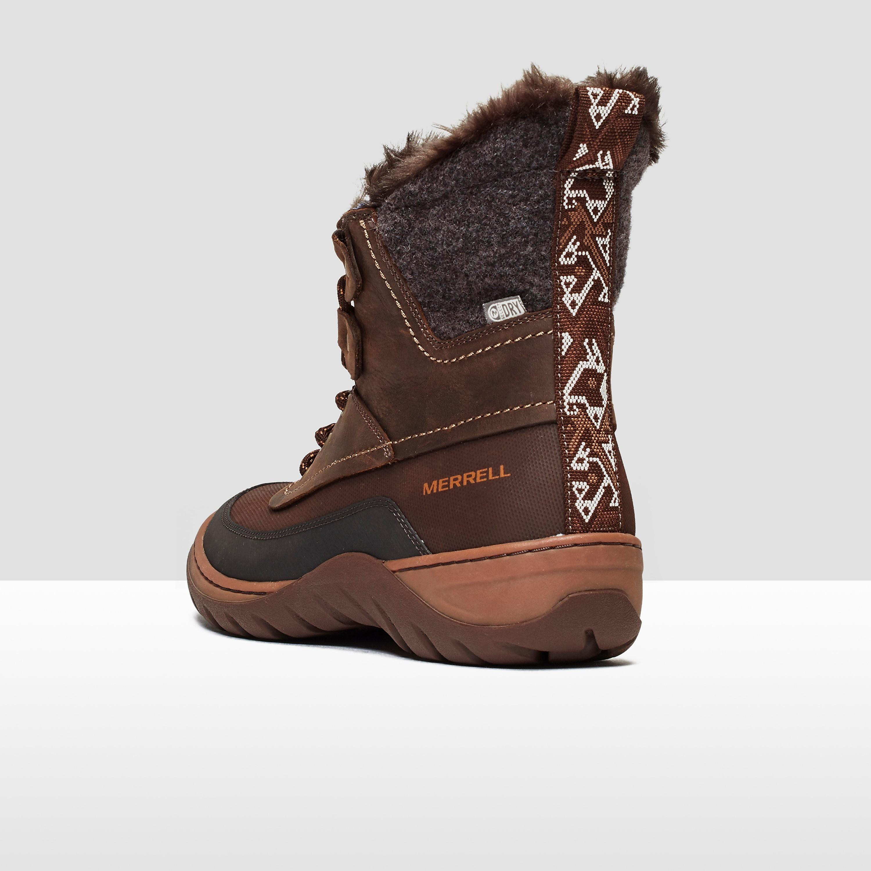 Merrell Women's Sylvia Mid Lace Waterproof Boots