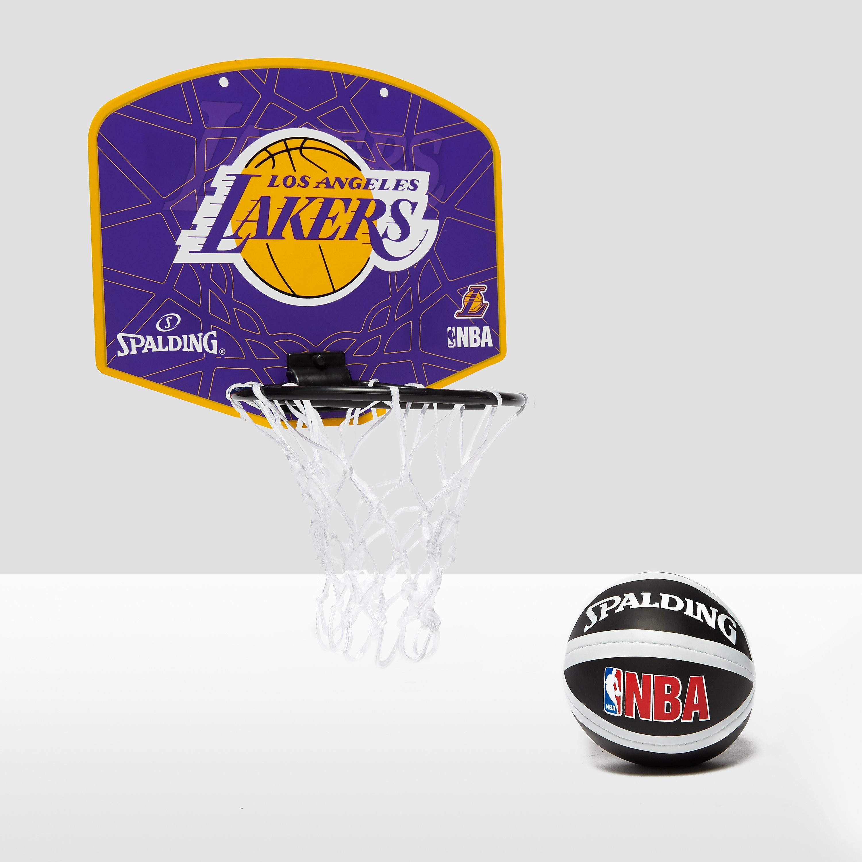 Spalding NBA LA Lakers Miniboard and Mini Ball