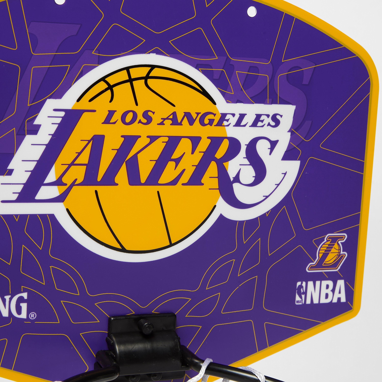 Spalding NBA LA Lakers Miniboard and Mini Ball