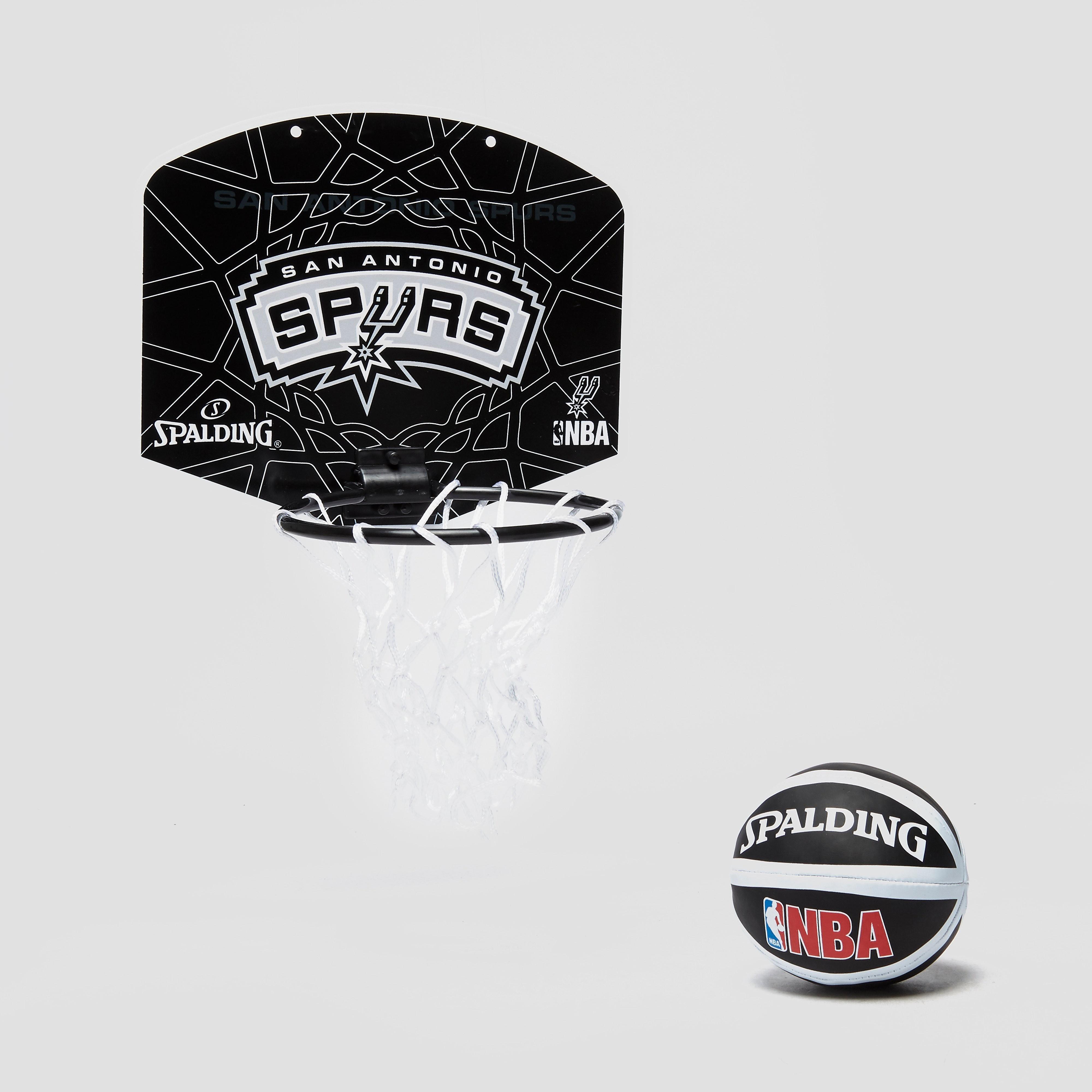 Spalding NBA SA SPurs Miniboard and Mini ball