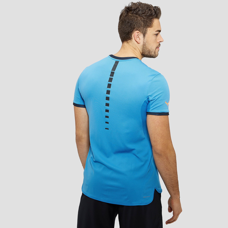 Nike Aeroreact rafael nadal challenger men's tennis t-shirt