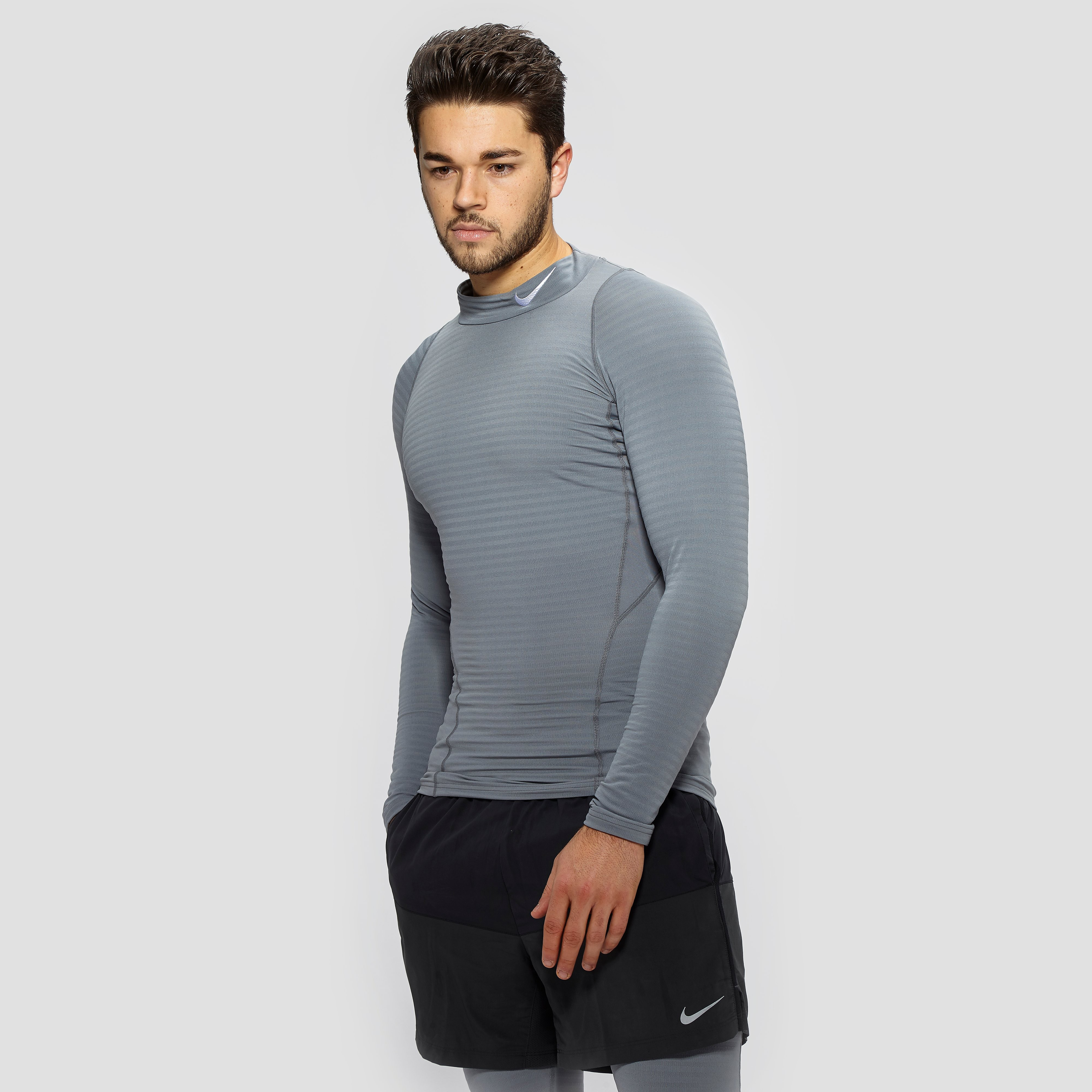 Nike Pro Warm Compression Long Sleeve Top