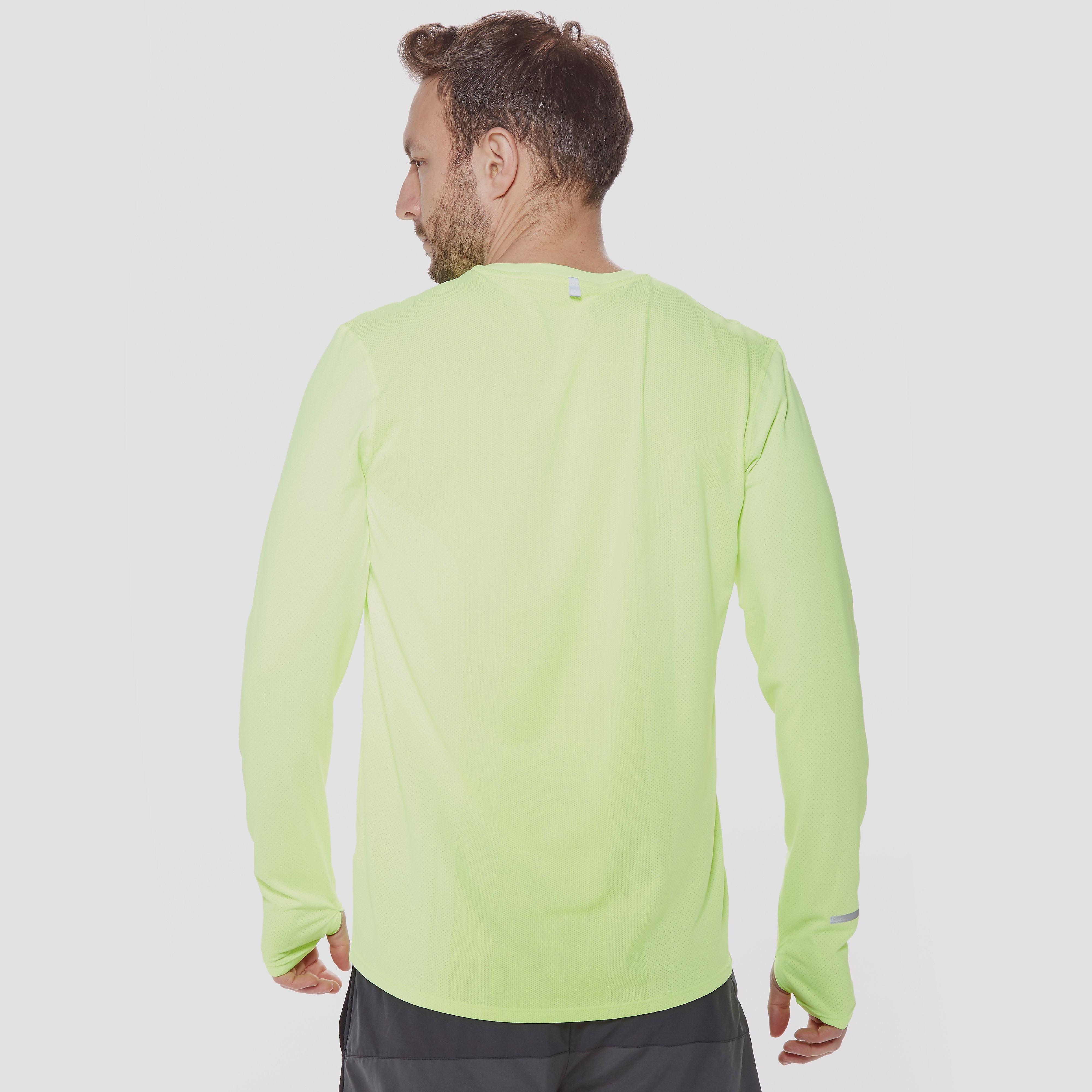 Nike Men's Dri-FIT Contour Long-Sleeve Running T-Shirt