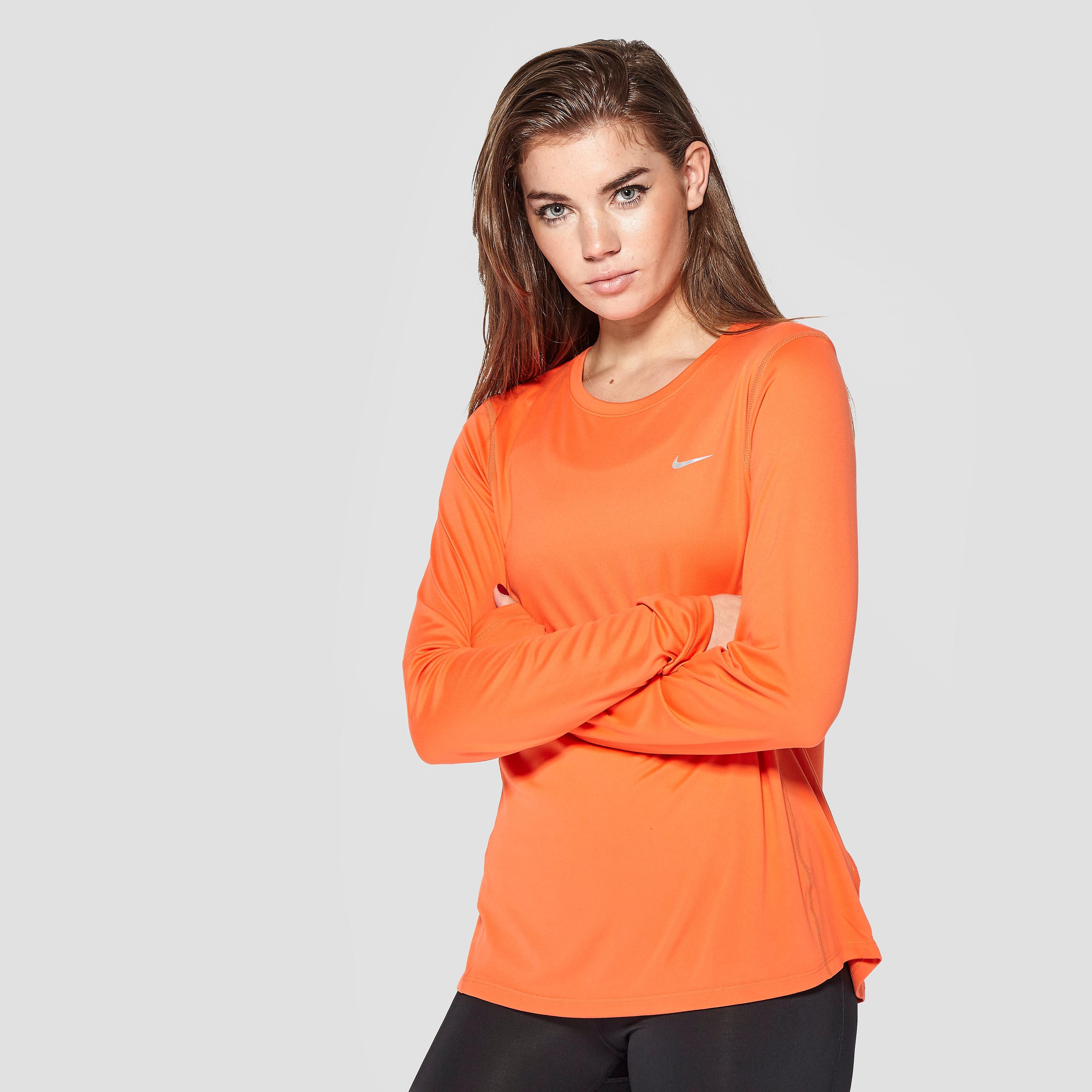 Nike Women's Miler Long Sleeve Shirt