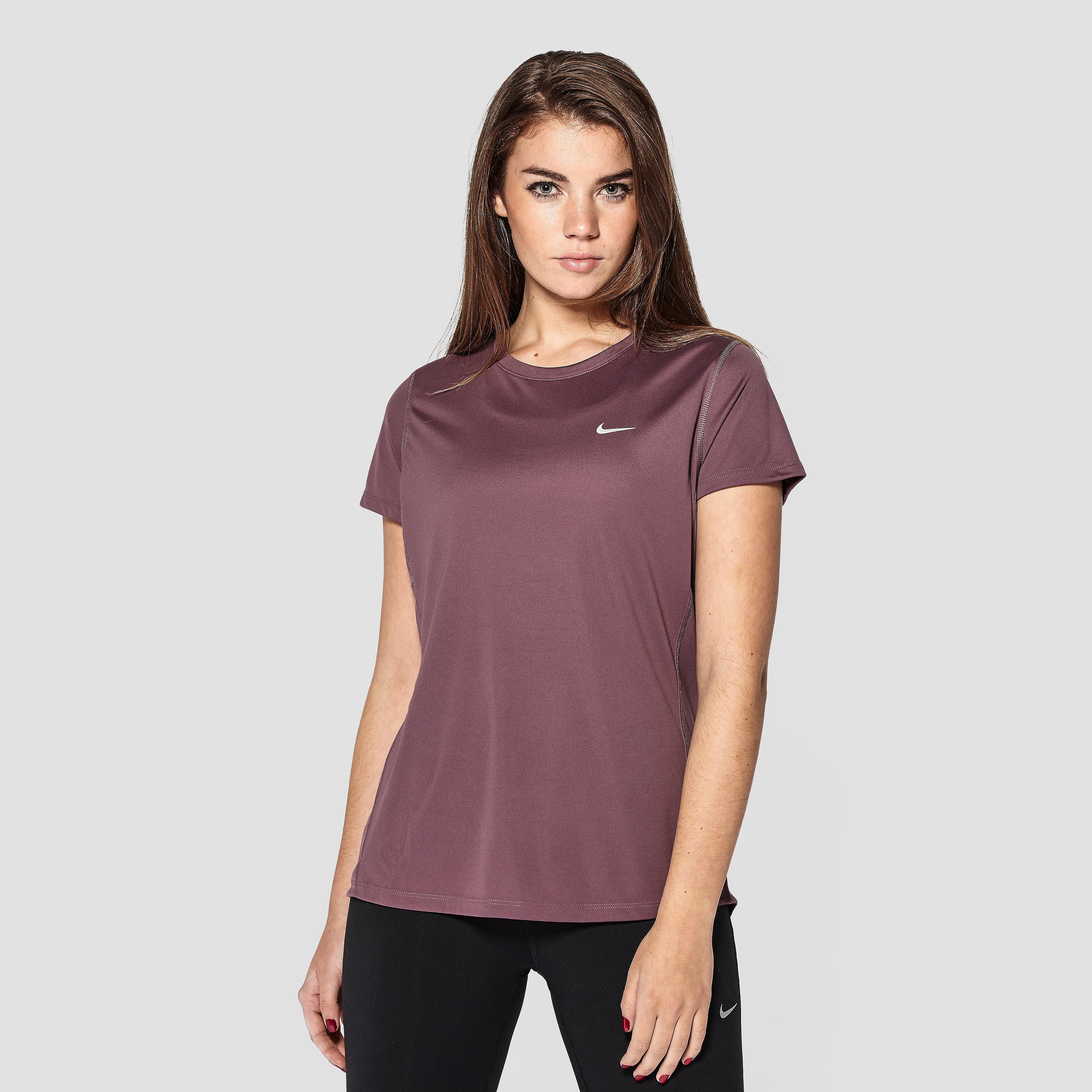 Nike Women's Miler Short-Sleeve Running T-Shirt