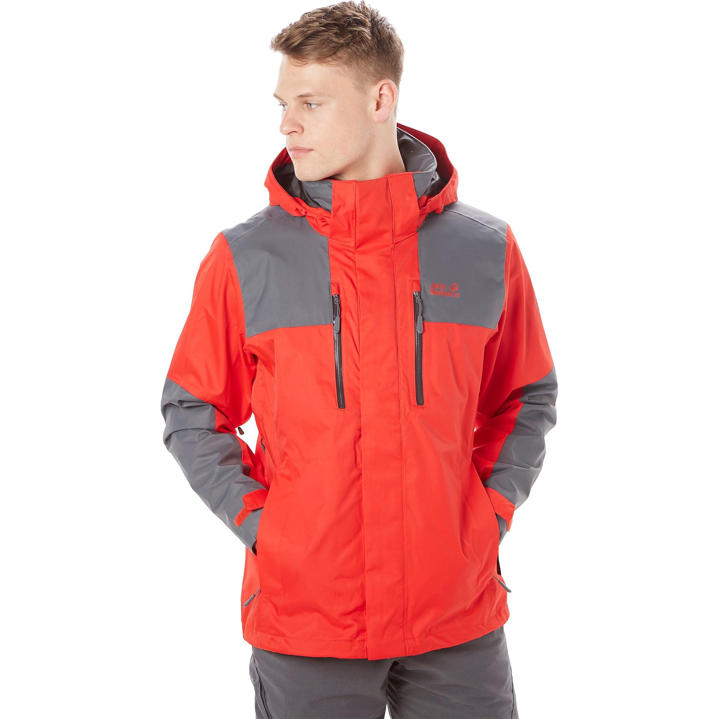 Jack Wolfskin Jasper Flex Jacket Waterproof Men's Jacket