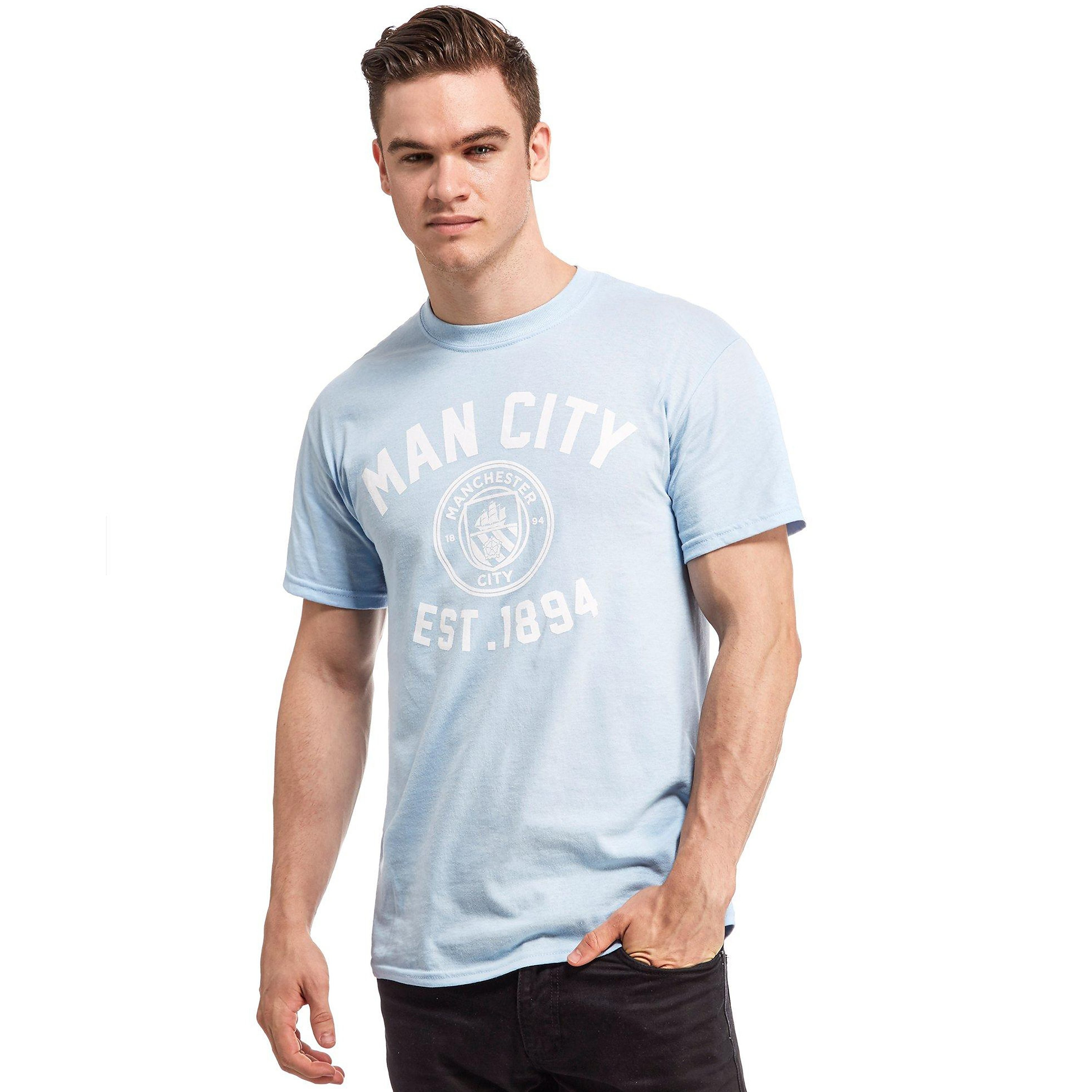 Official Team Manchester City F.C Men's T-Shirt