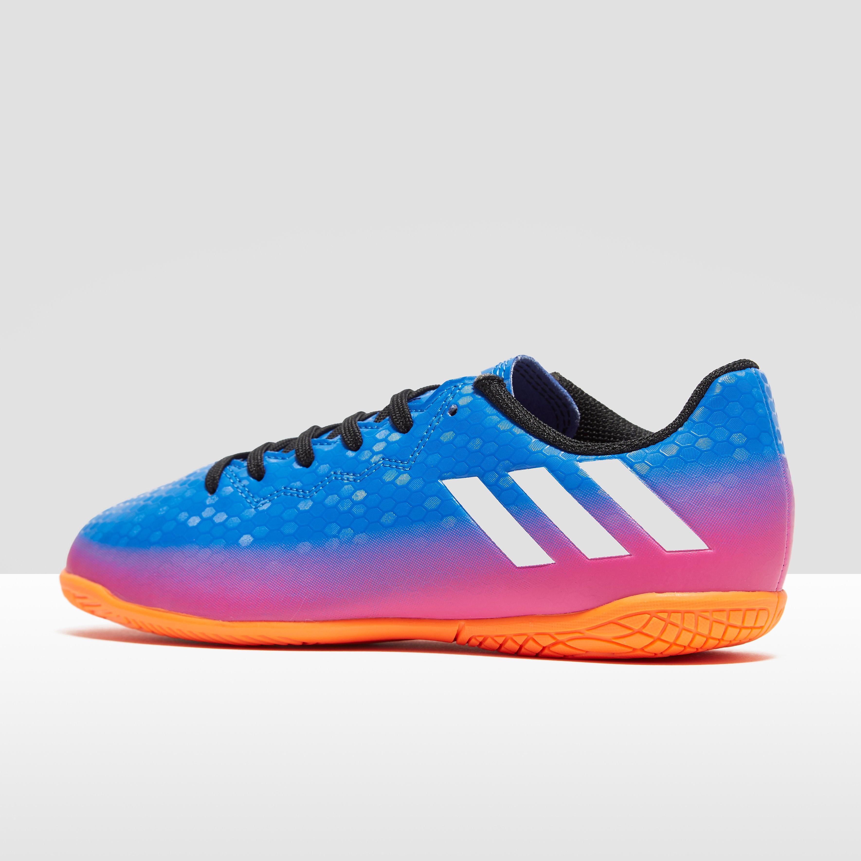 adidas Blue Blast Messi 17.4 Indoor Court Children's Football Boots