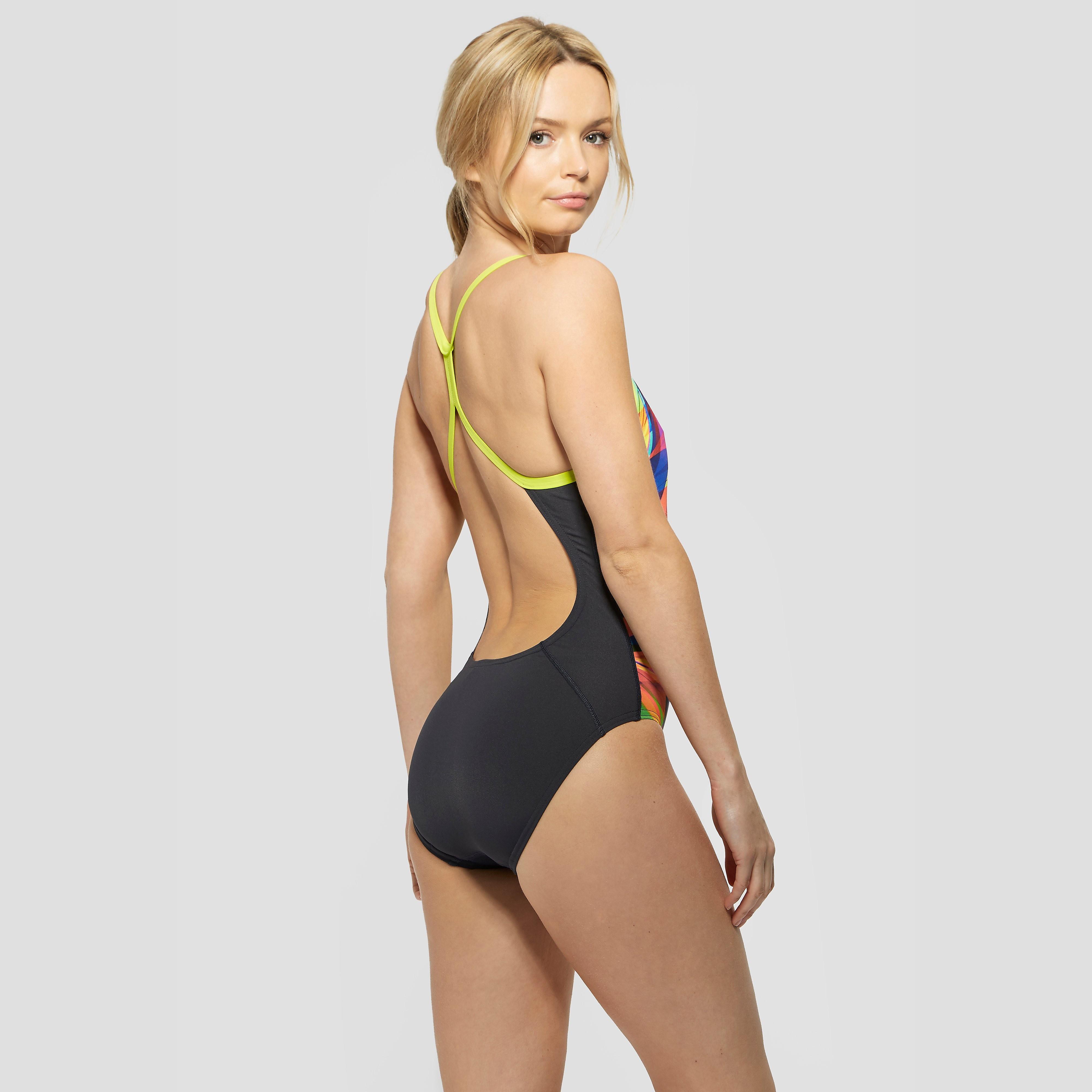Speedo Tempoflow Rippleback Swimsuit