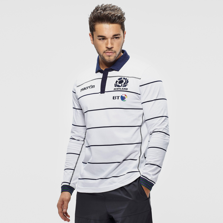 Macron Scotland Rugby Union M16 Men's Away Replica Shirt