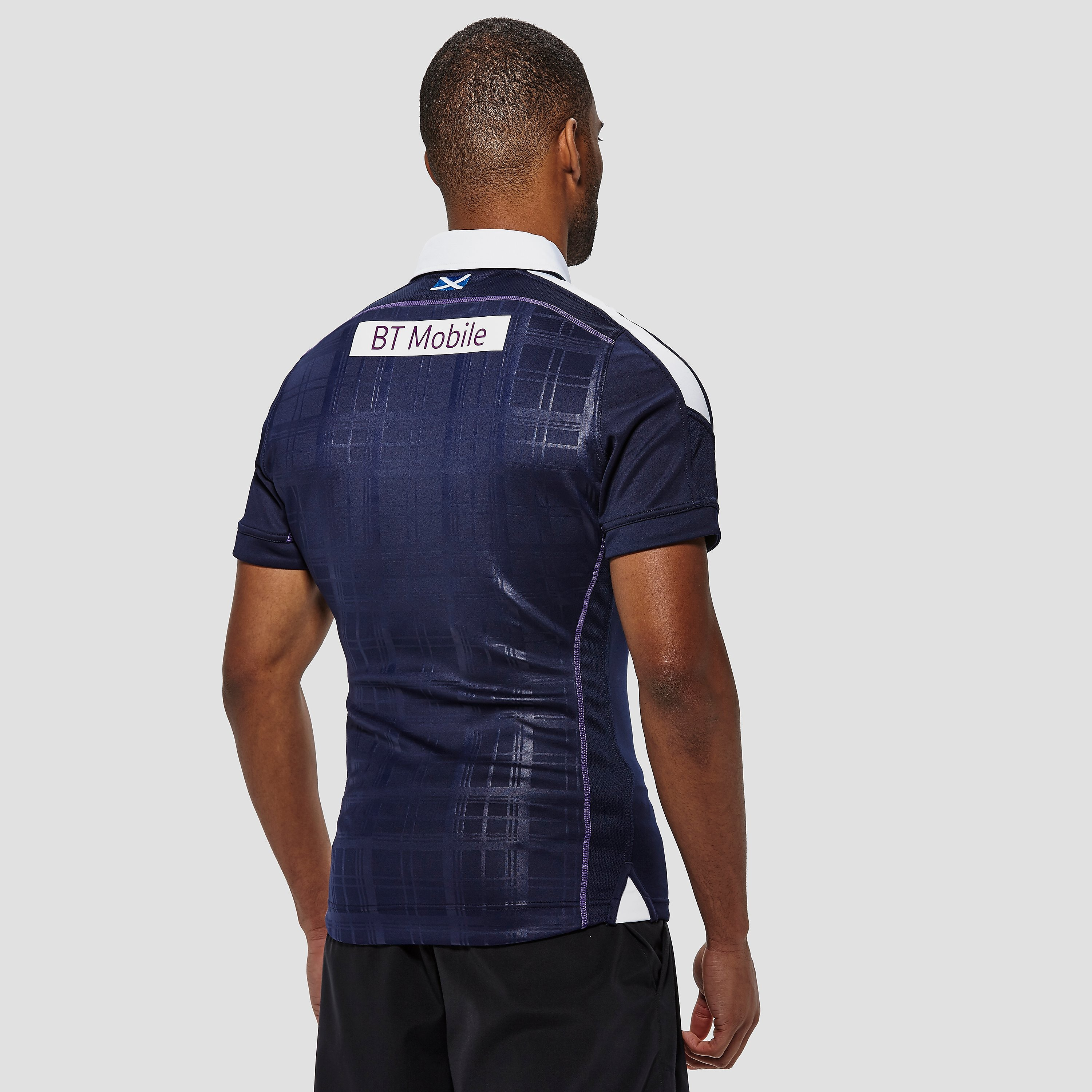 Macron Scotland 2016/17 Replica Home Rugby Jersey