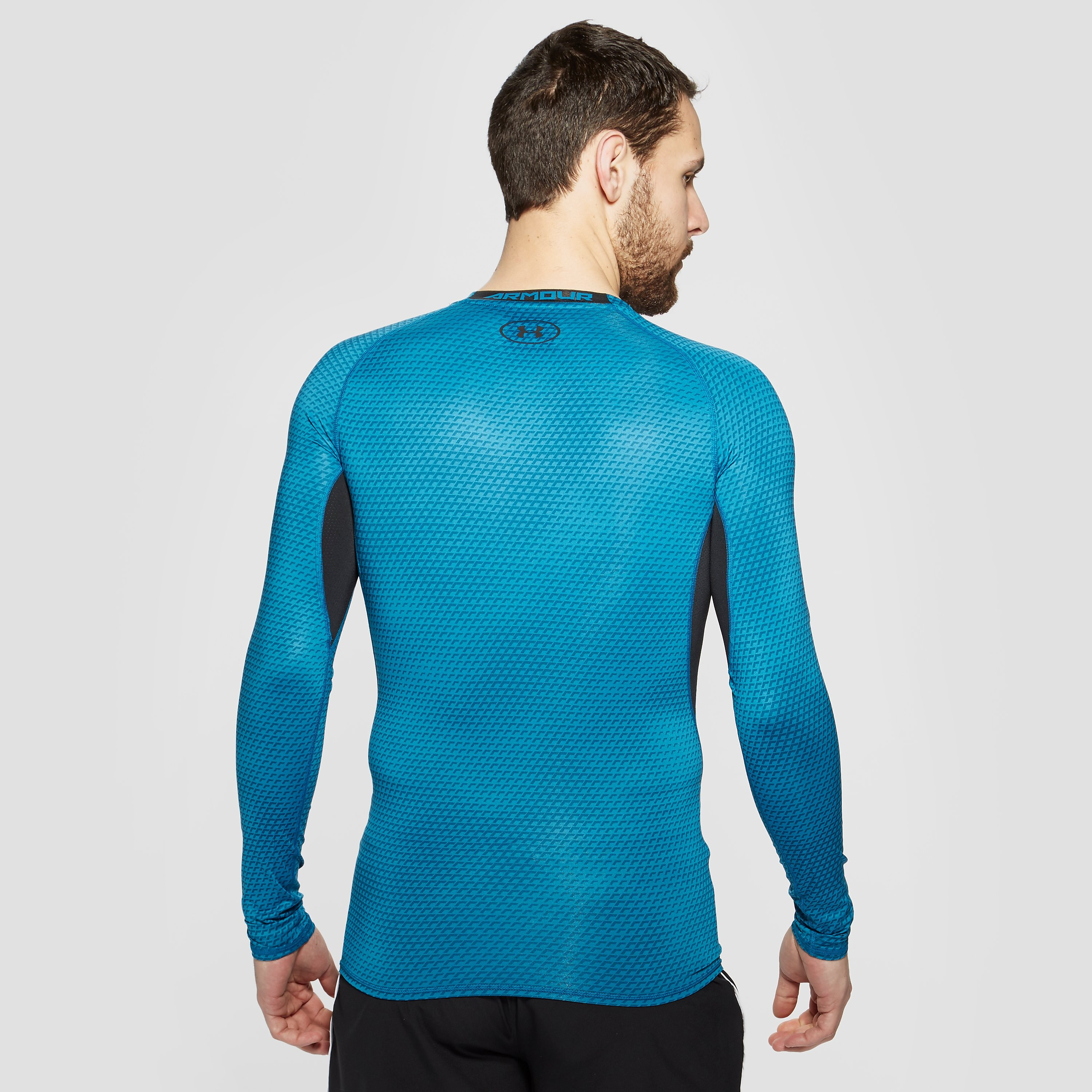 Under Armour HeatGear Armour Long Sleeved Compression Men's Training Top