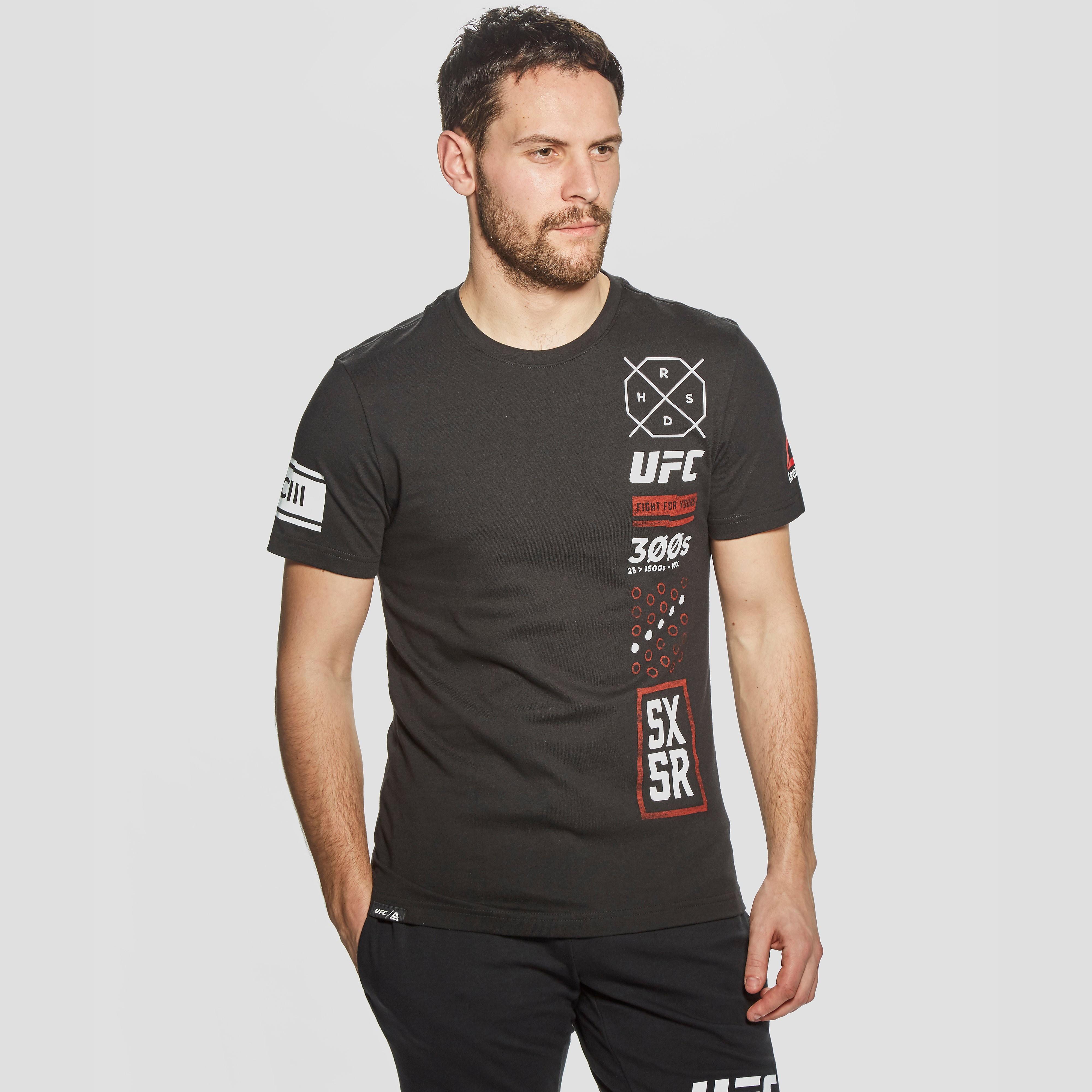 Reebok UFC Ultimate Fan 5X5R Men's T-Shirt