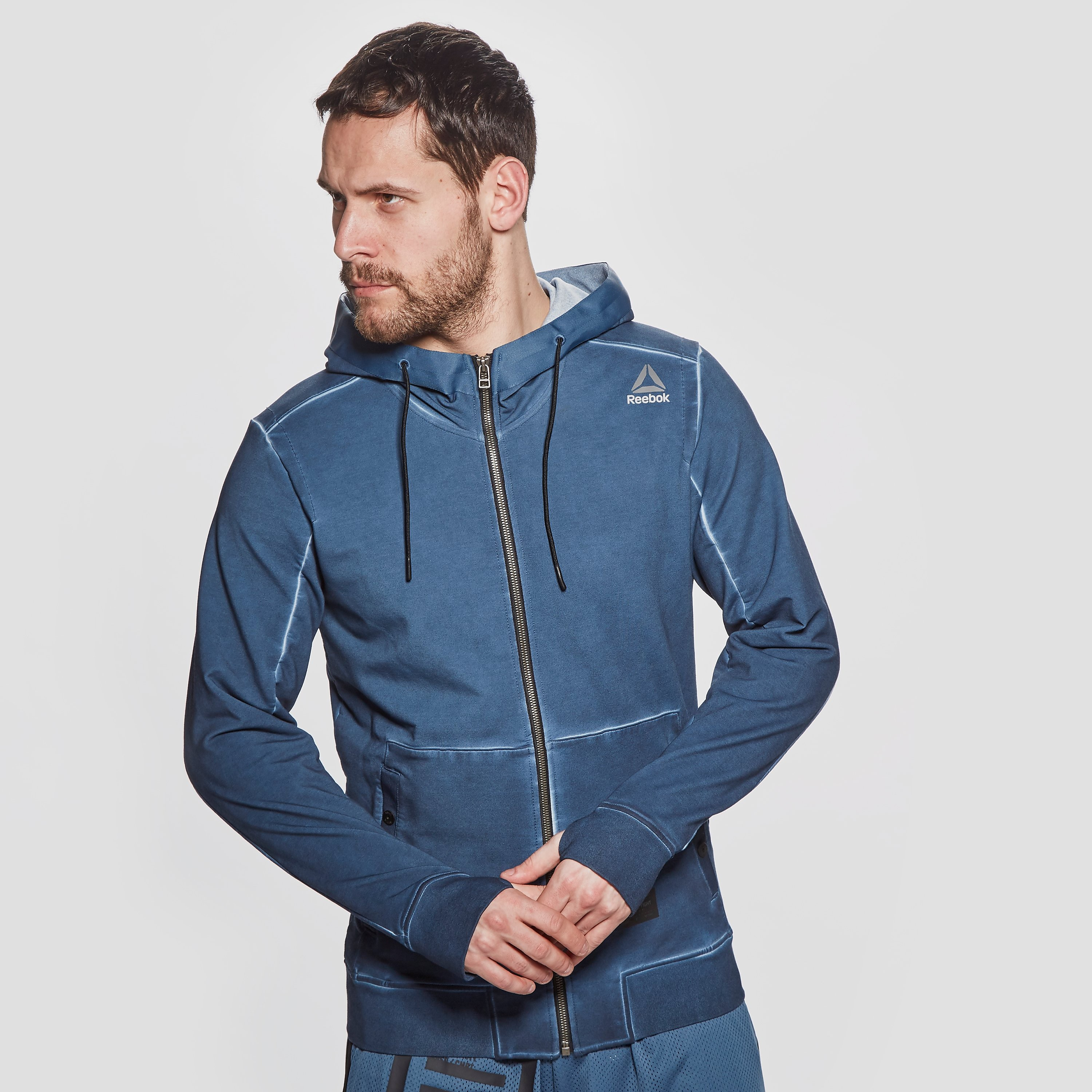 Reebok Noble Fight Zip Men's Hoodie