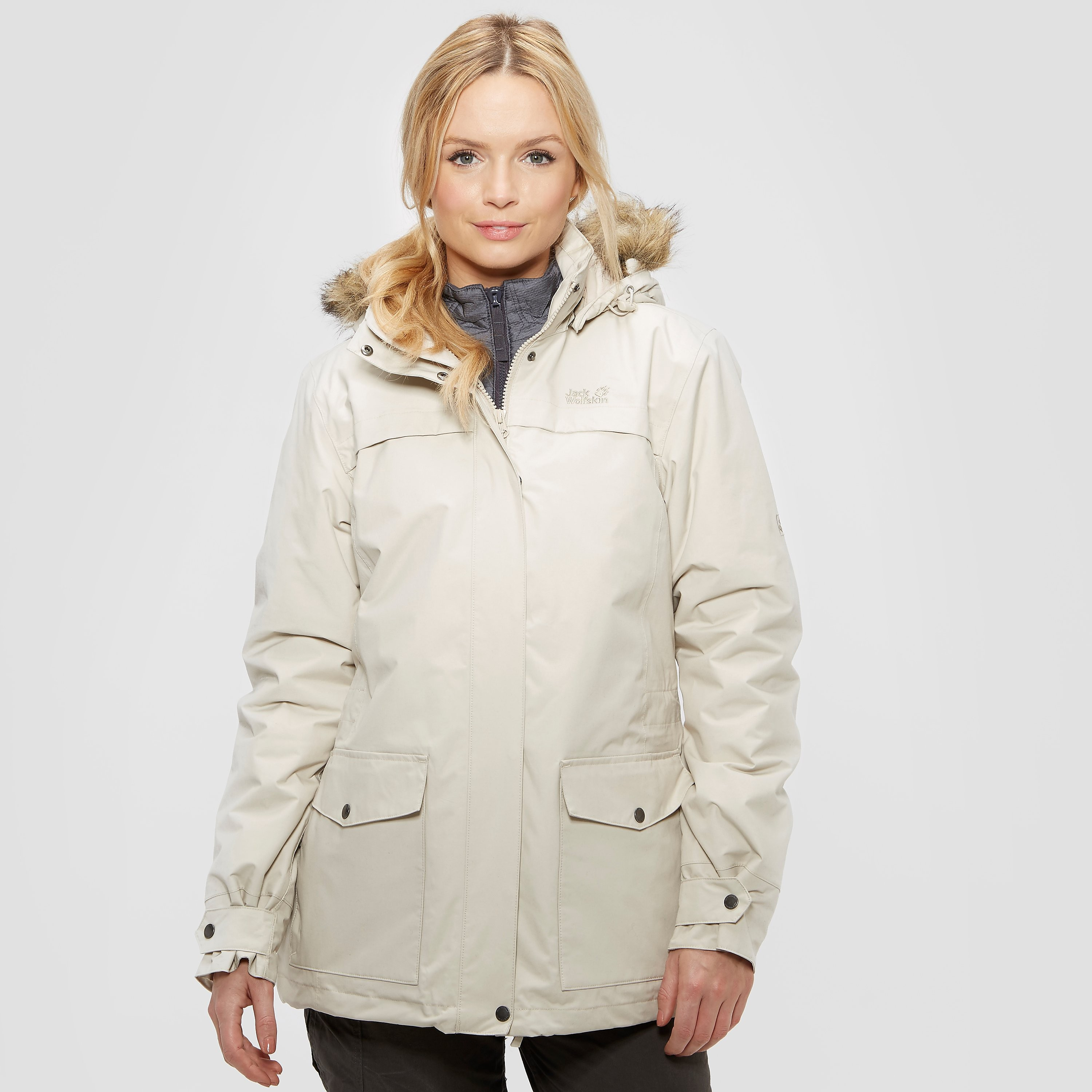 Jack Wolfskin Women's Rocky Shore 3-In-1 Parka