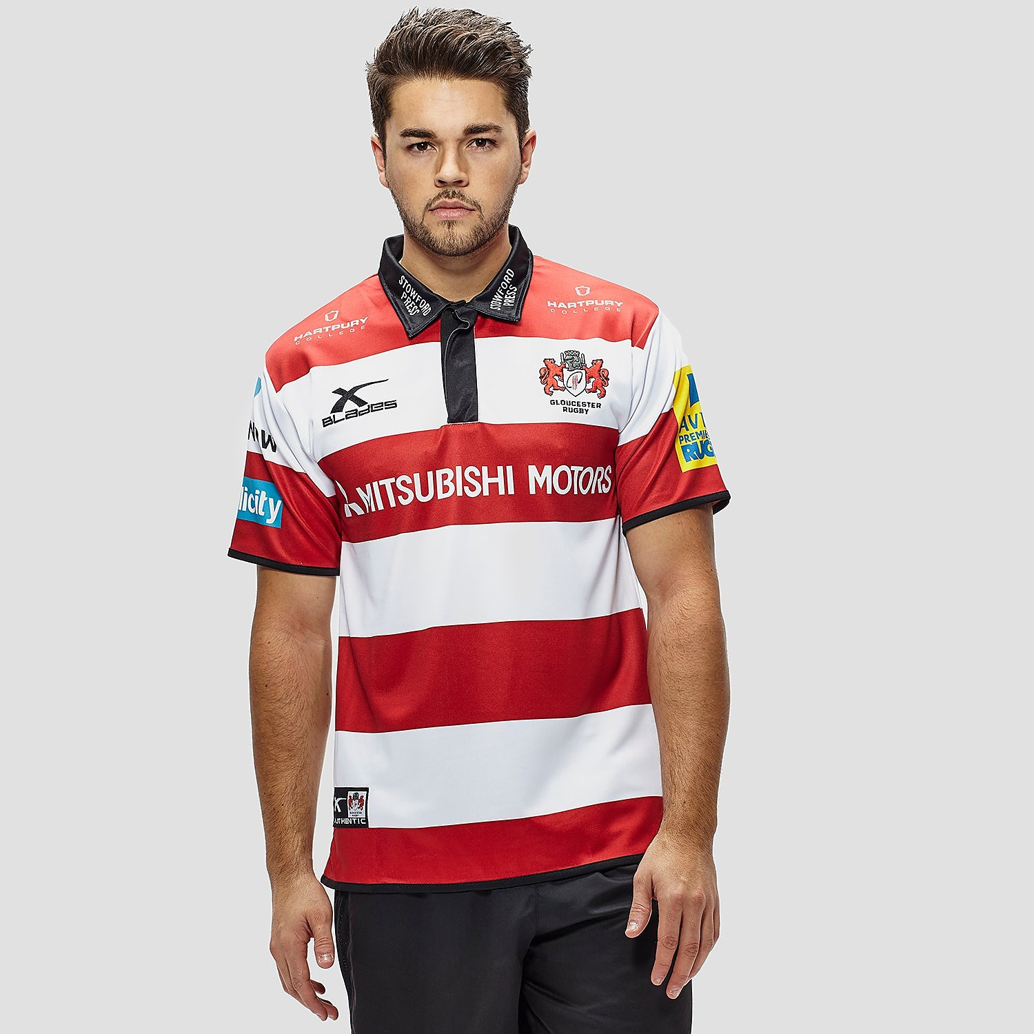 X Blades Men's Gloucester 2016/17 Senior Supporters Home Shirt
