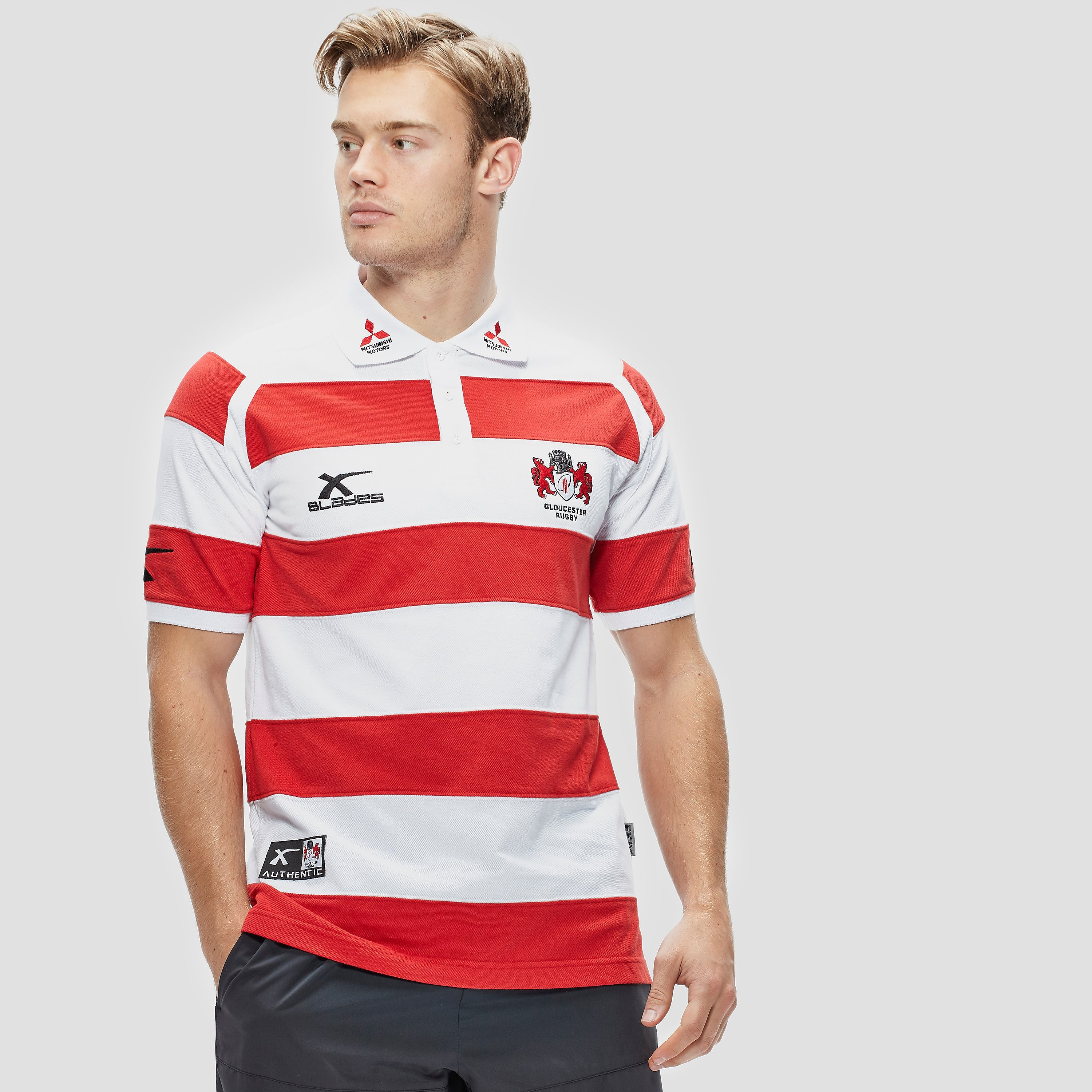 X blades Gloucester Rugby Polo