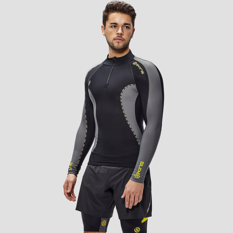 Skins DNAmic Thermal Men's Long Sleeved Top Mock Neck Zip