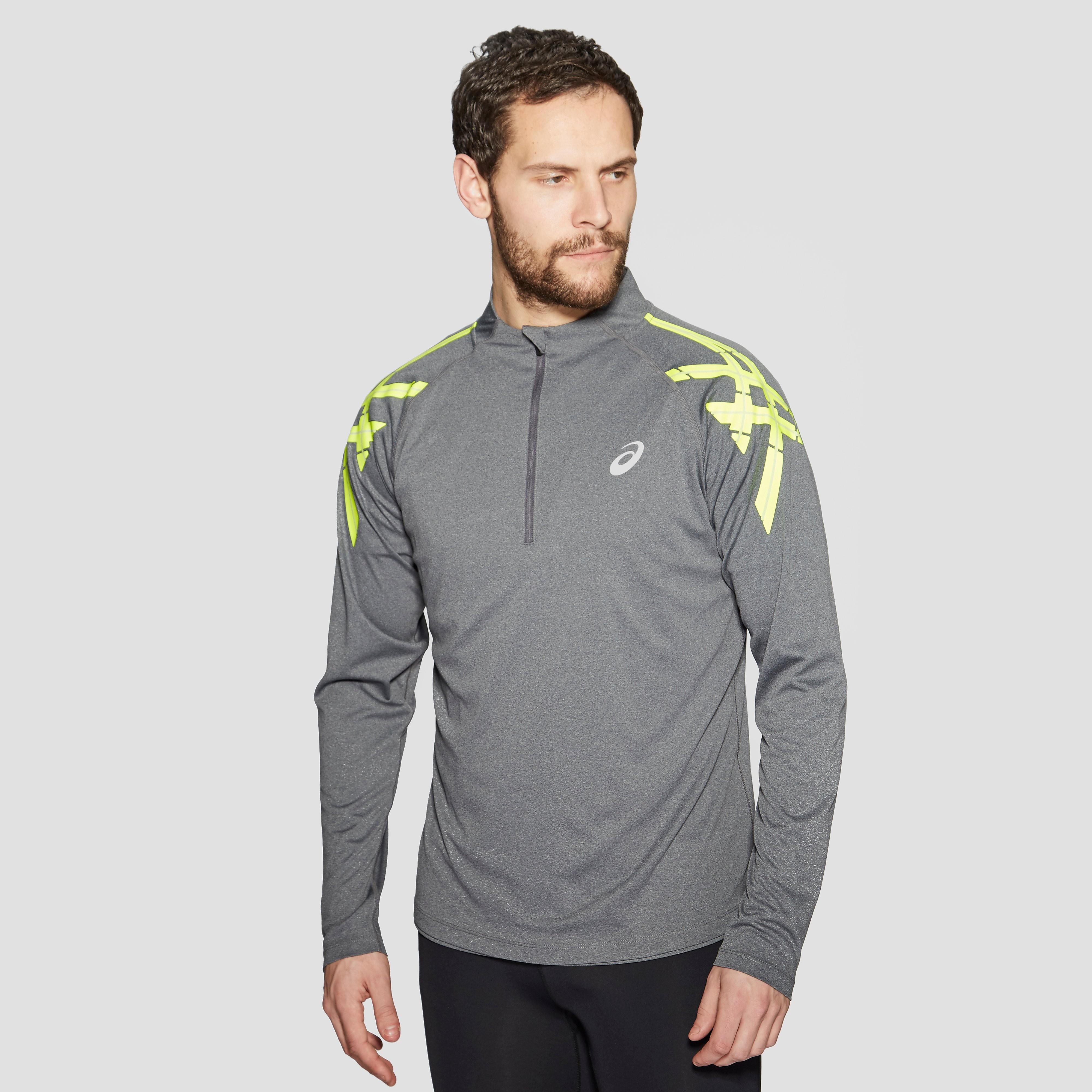 Asics Stripe 1/2 Zip Long Sleeve Men's Training Top