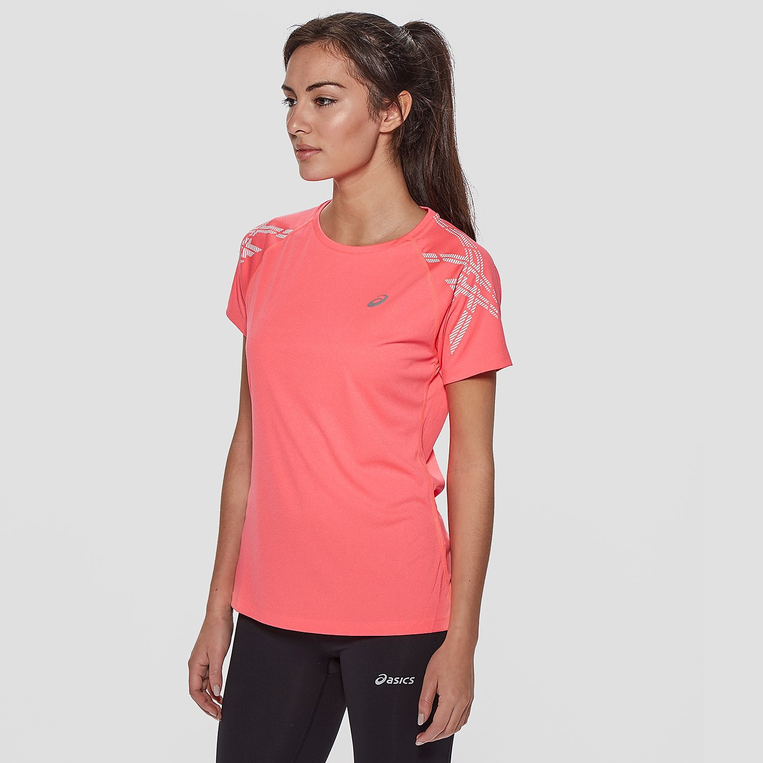 ASICS Stripe Short Sleeve Women's T-Shirt