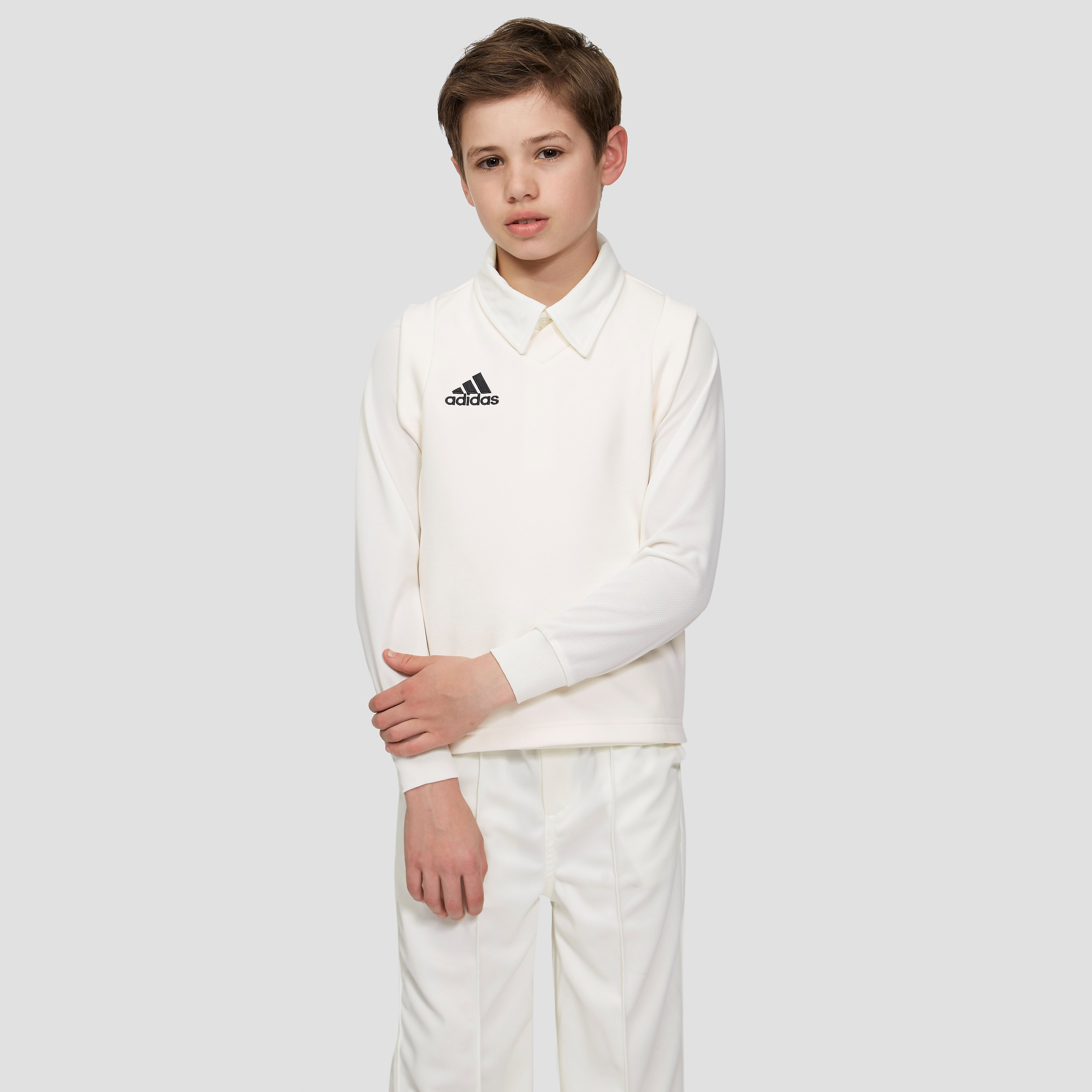 adidas Sleeveless Junior Cricket Sweater