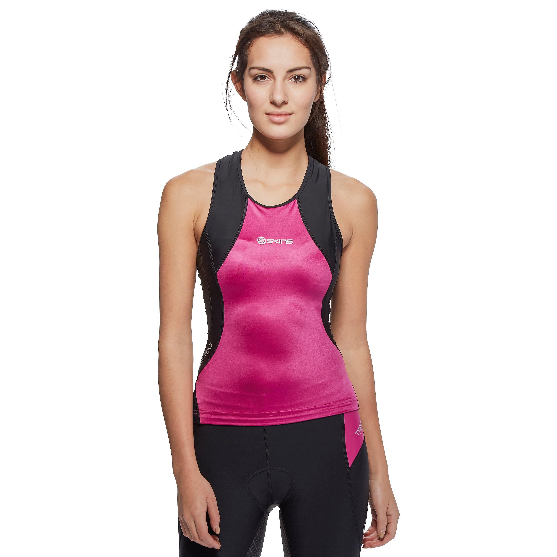 Skins TRI400 Racerback Women's Triathlon Compression Top
