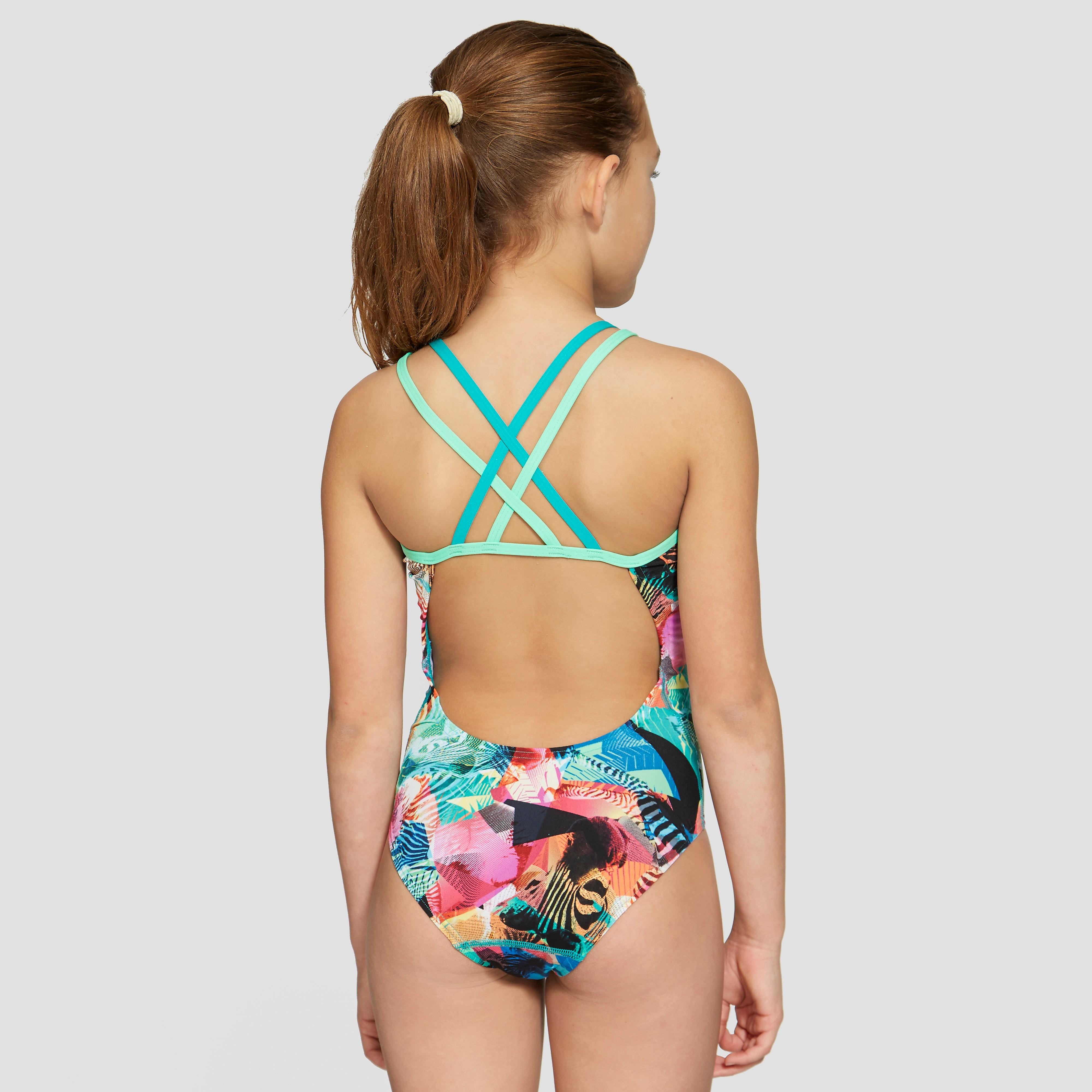 Speedo Flipturns Double Crossback Junior Swimsuit