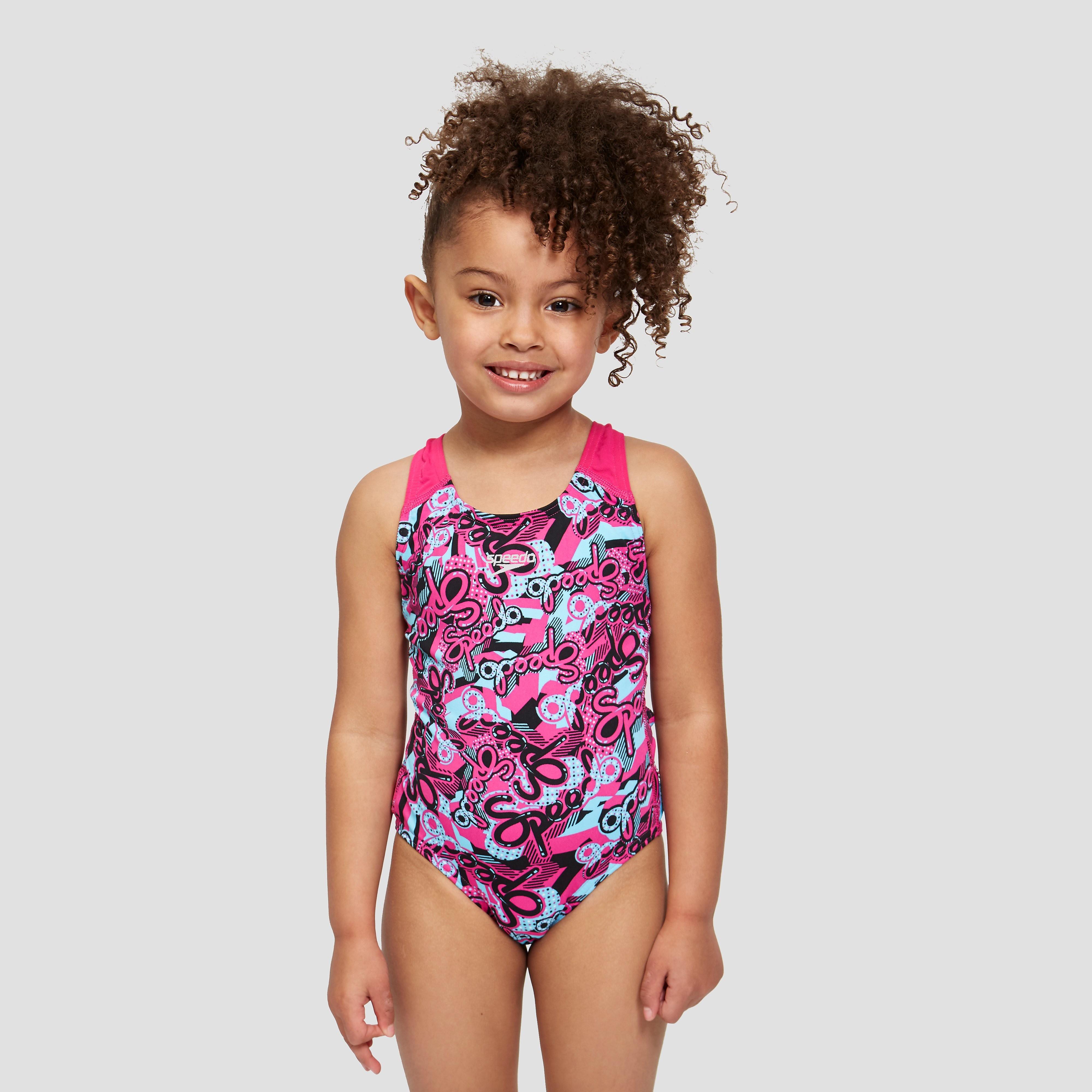 Speedo Astropop Allover Splashback junior swimsuit