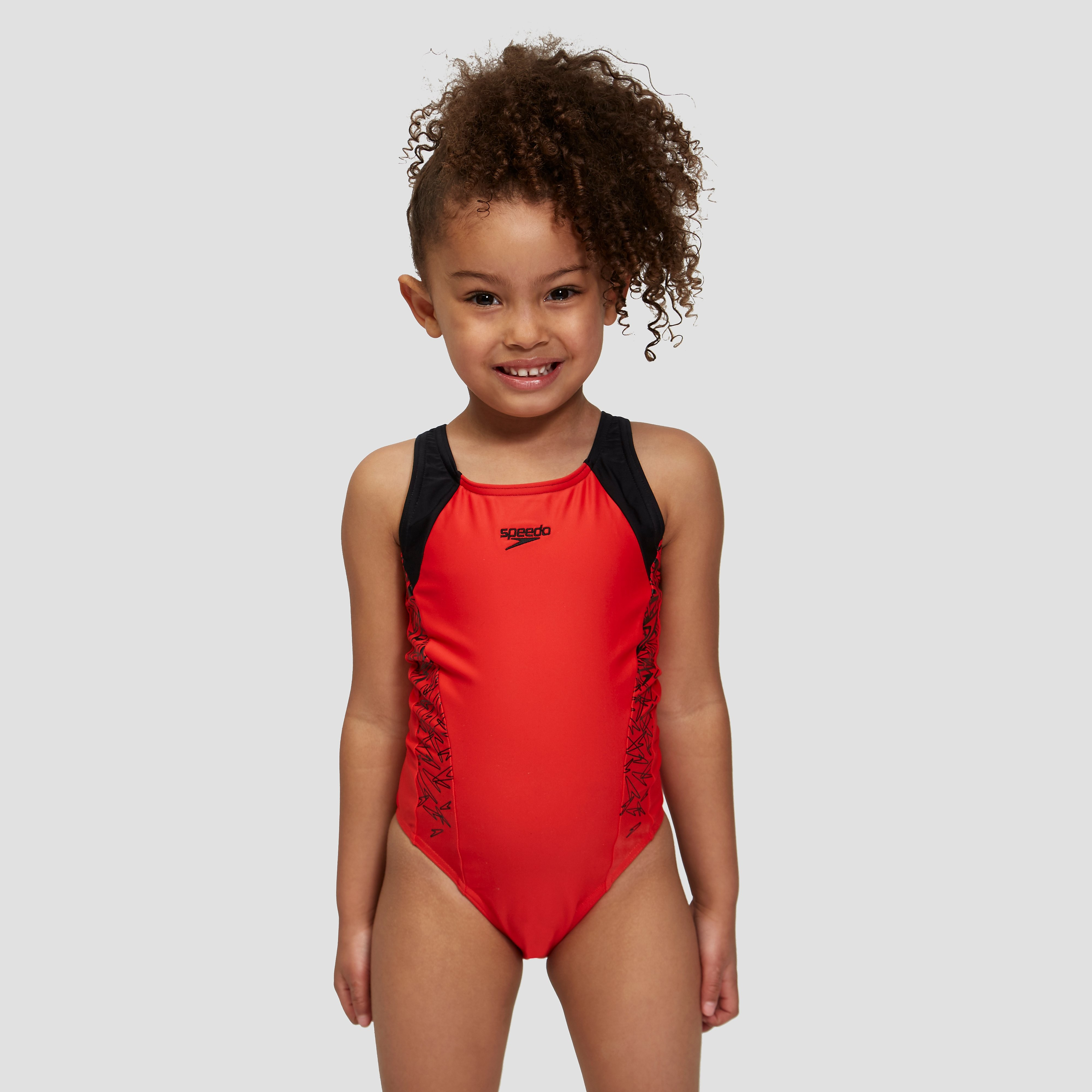 Speedo Boom Splice Muscleback Junior Swimsuit