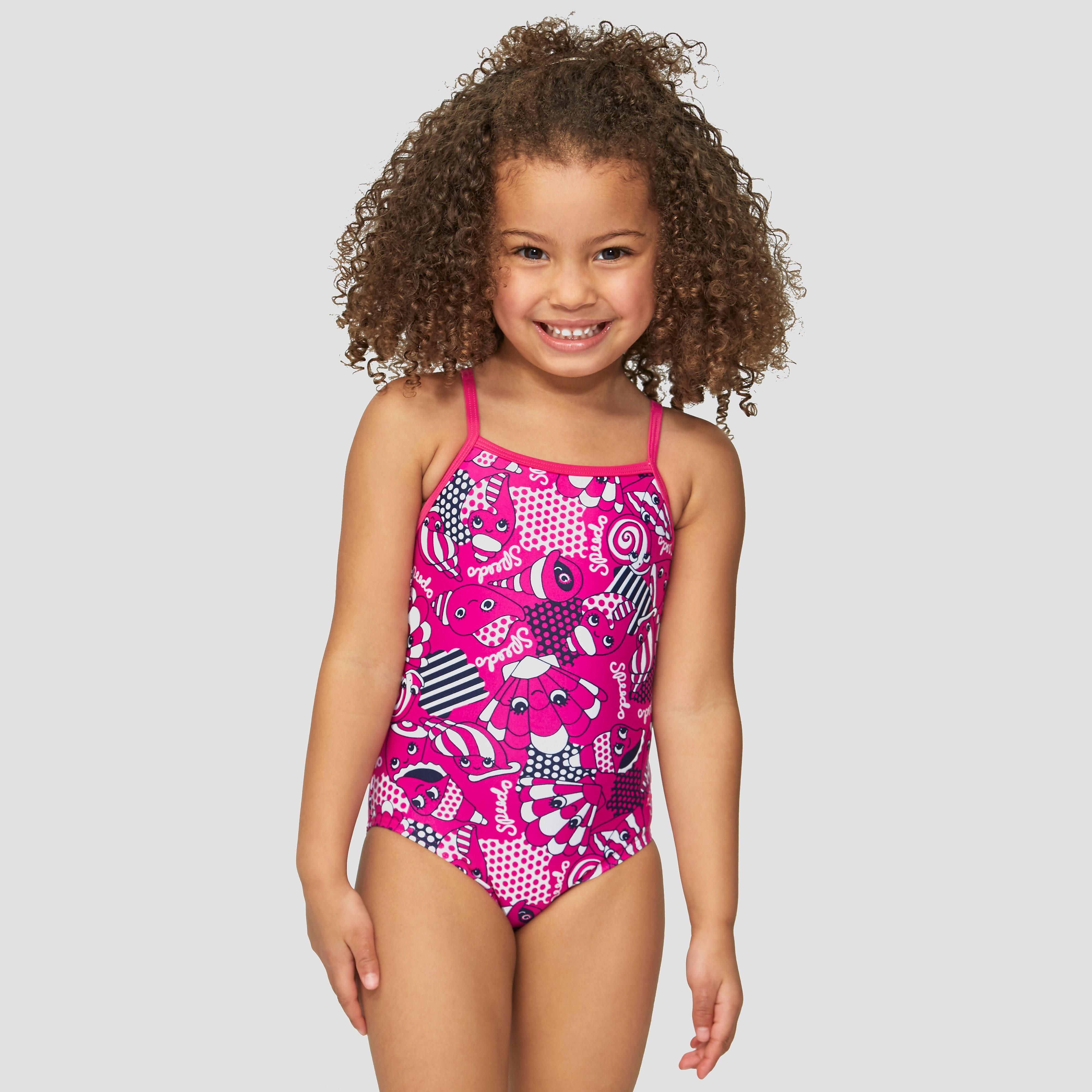Speedo Tidal Idol Essential Frill Children's Swimsuit