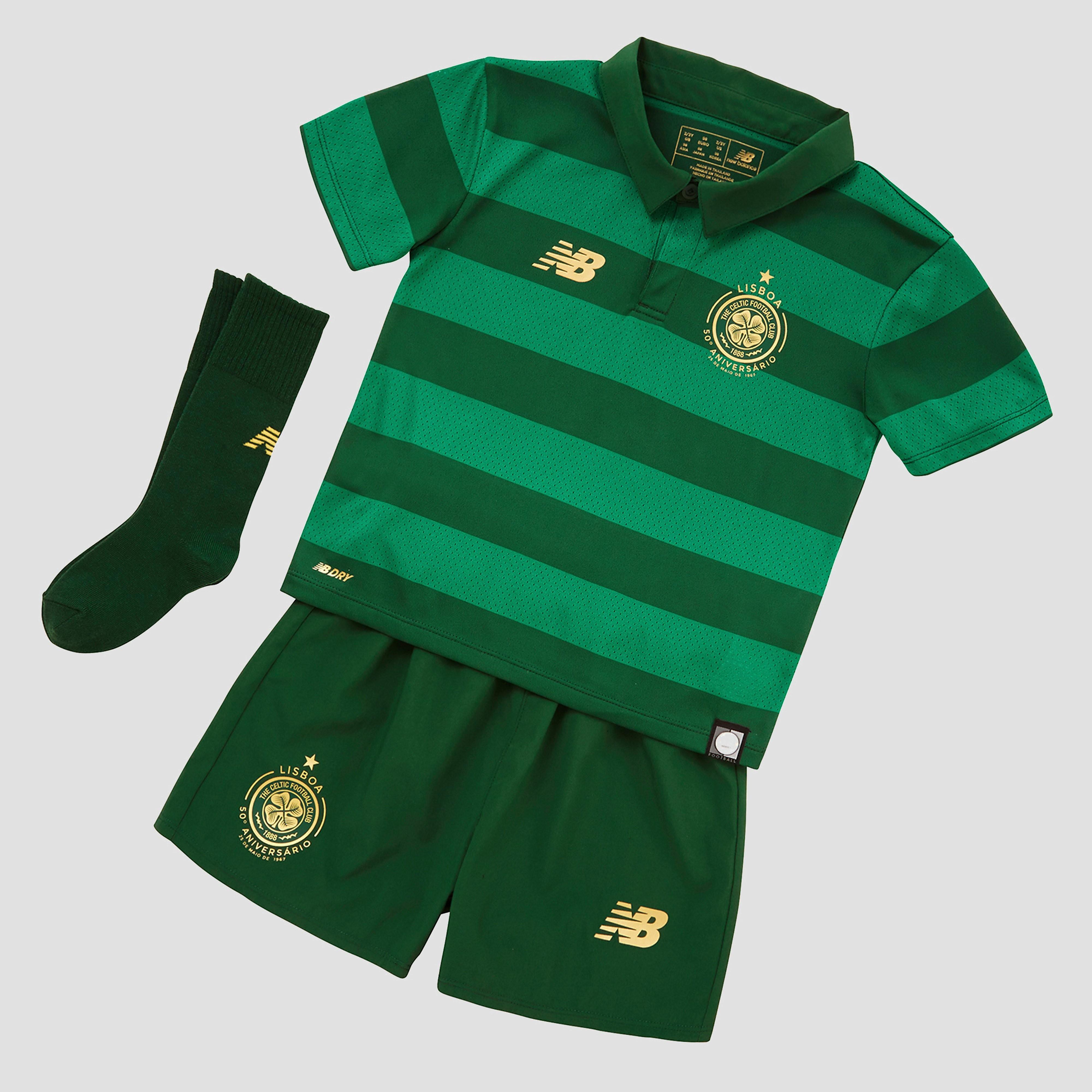 New Balance Celtic FC 2017/18 Away Kit Children