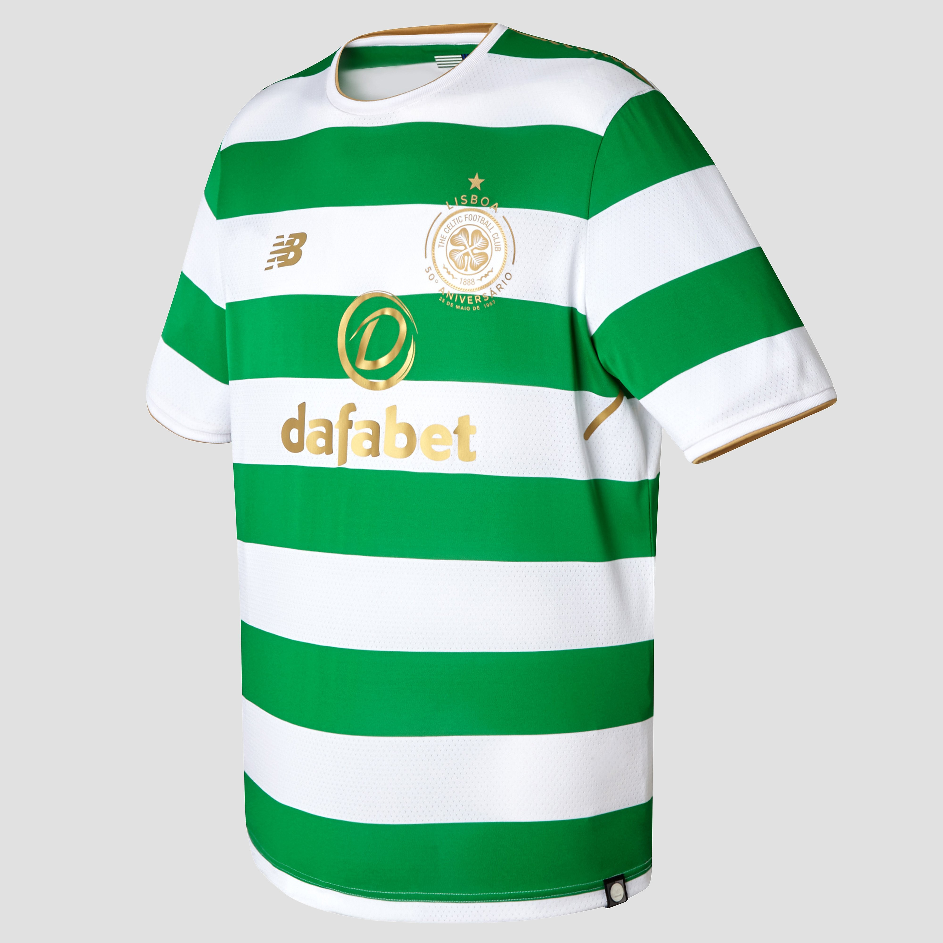 New Balance Celtic FC 2017/18 Men's Home Shirt