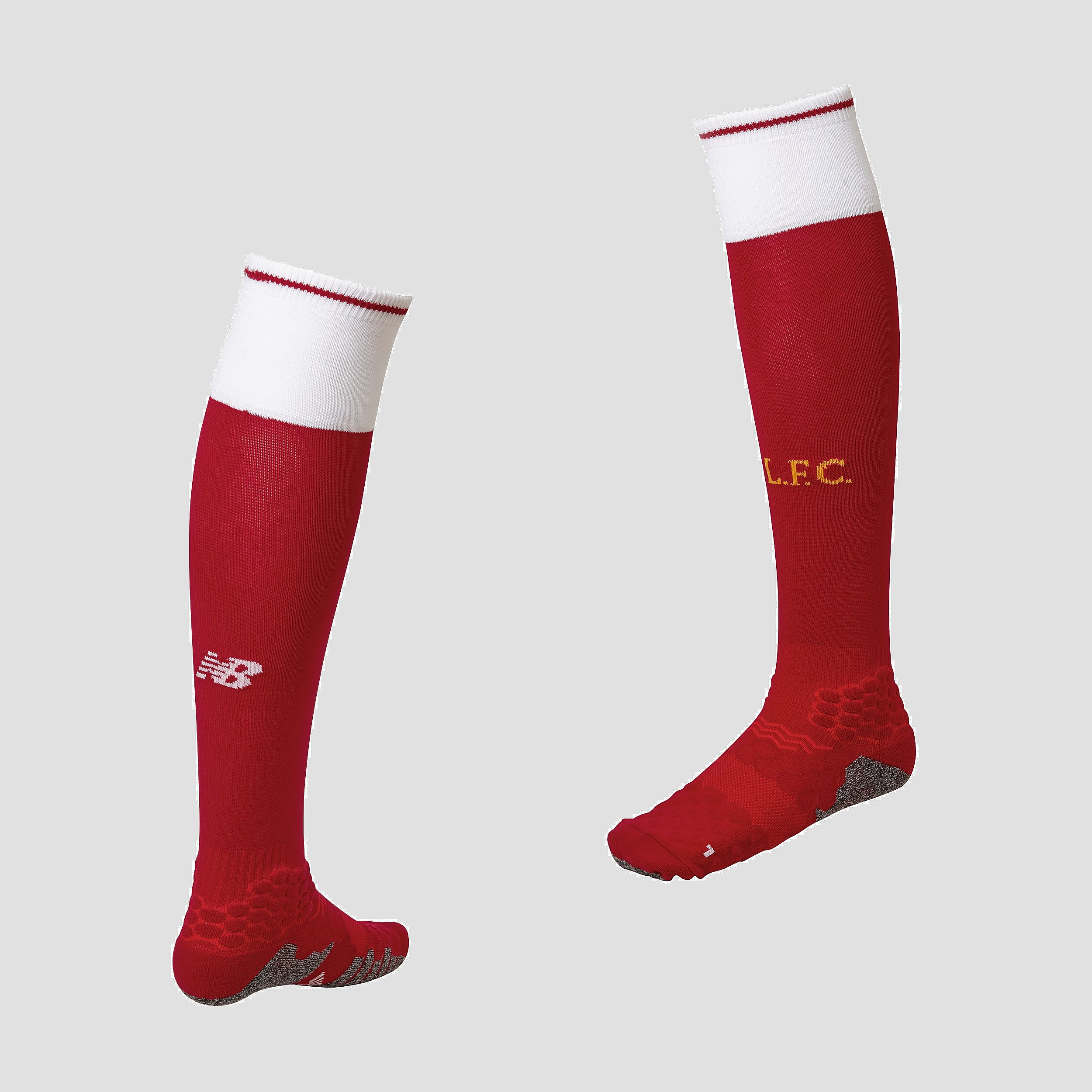 New Balance 1 Pair Liverpool FC 2017/18 Home Men's Socks