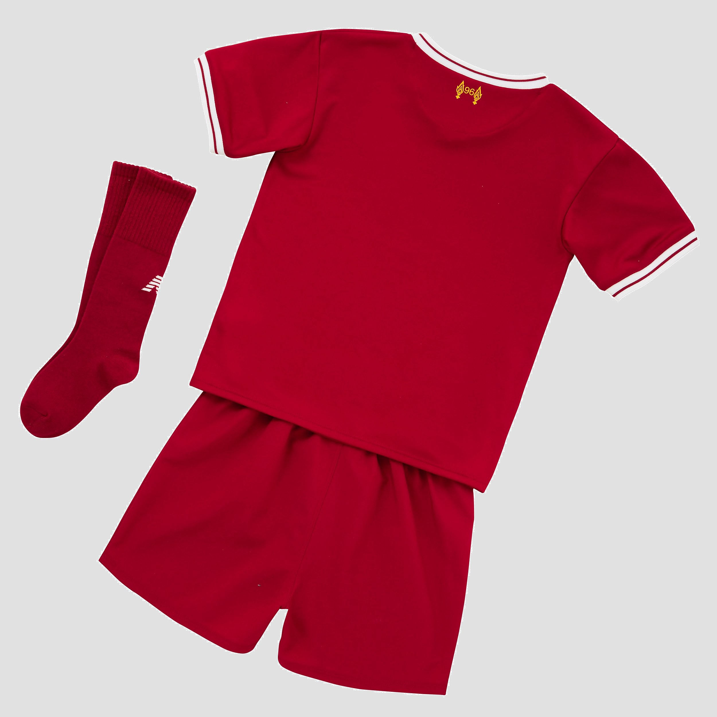 New Balance Liverpool FC 2017/18 Children's Home Kit