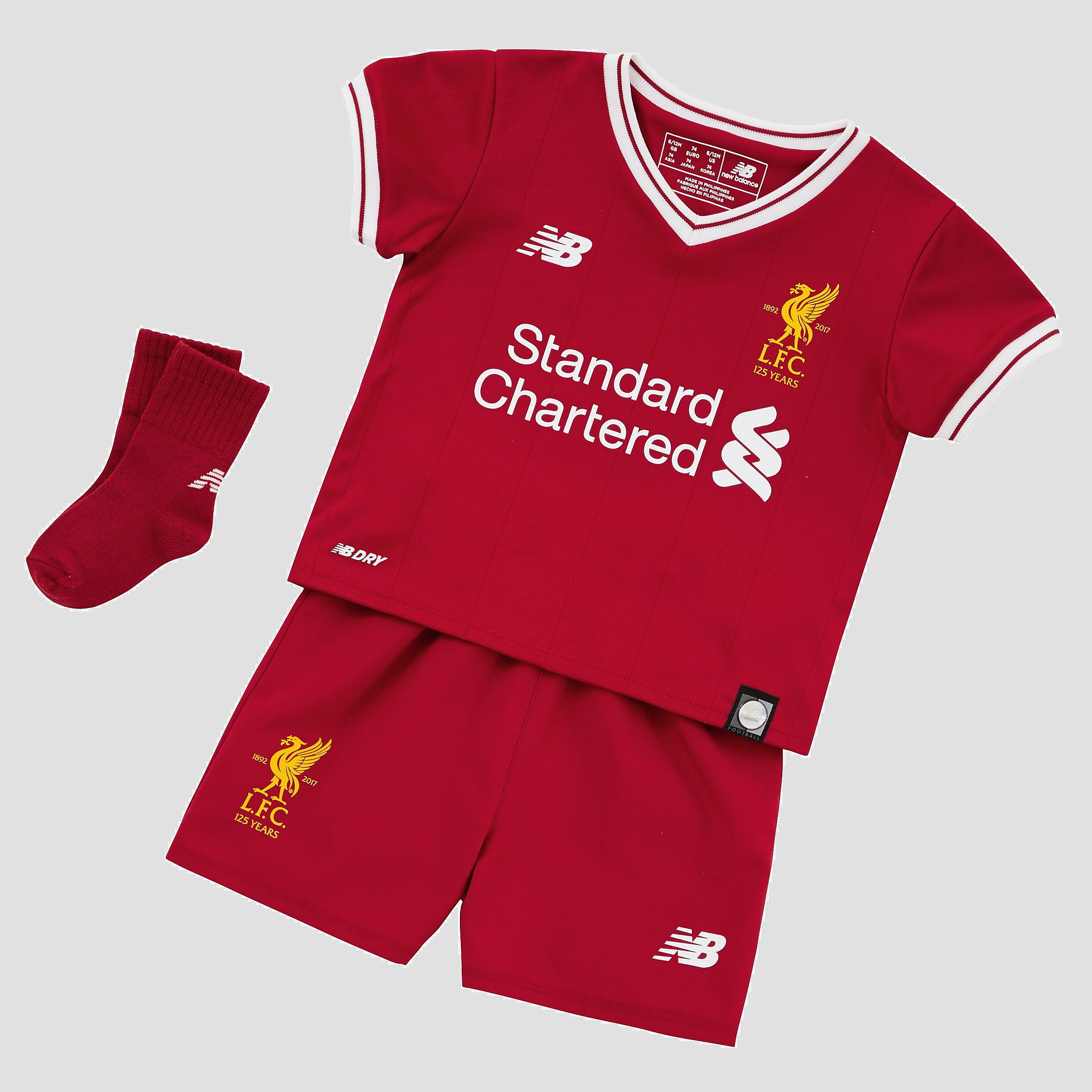 New Balance Liverpool FC 2017/18 Infant Home Kit