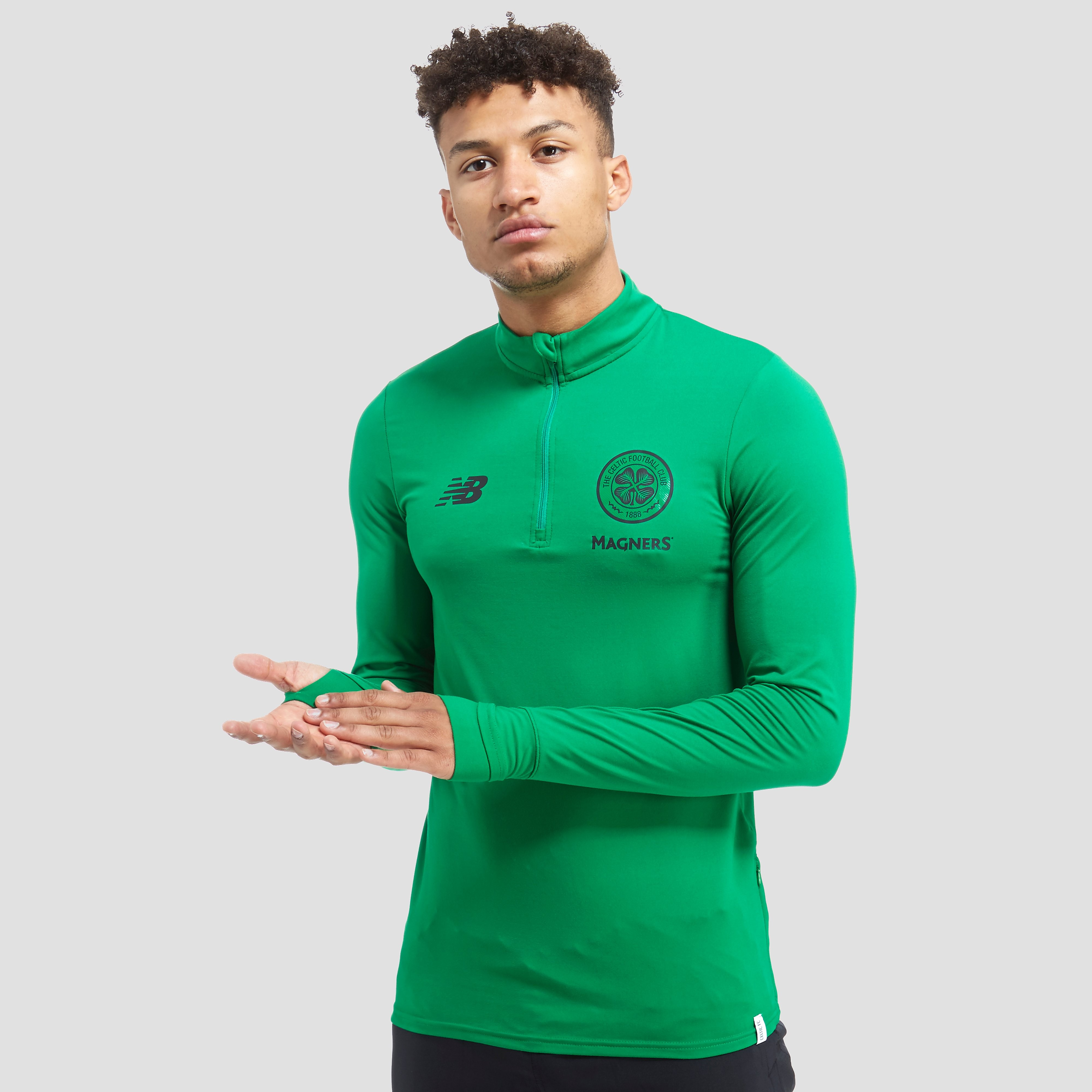 New Balance Celtic FC 1/2 Zip Training Top