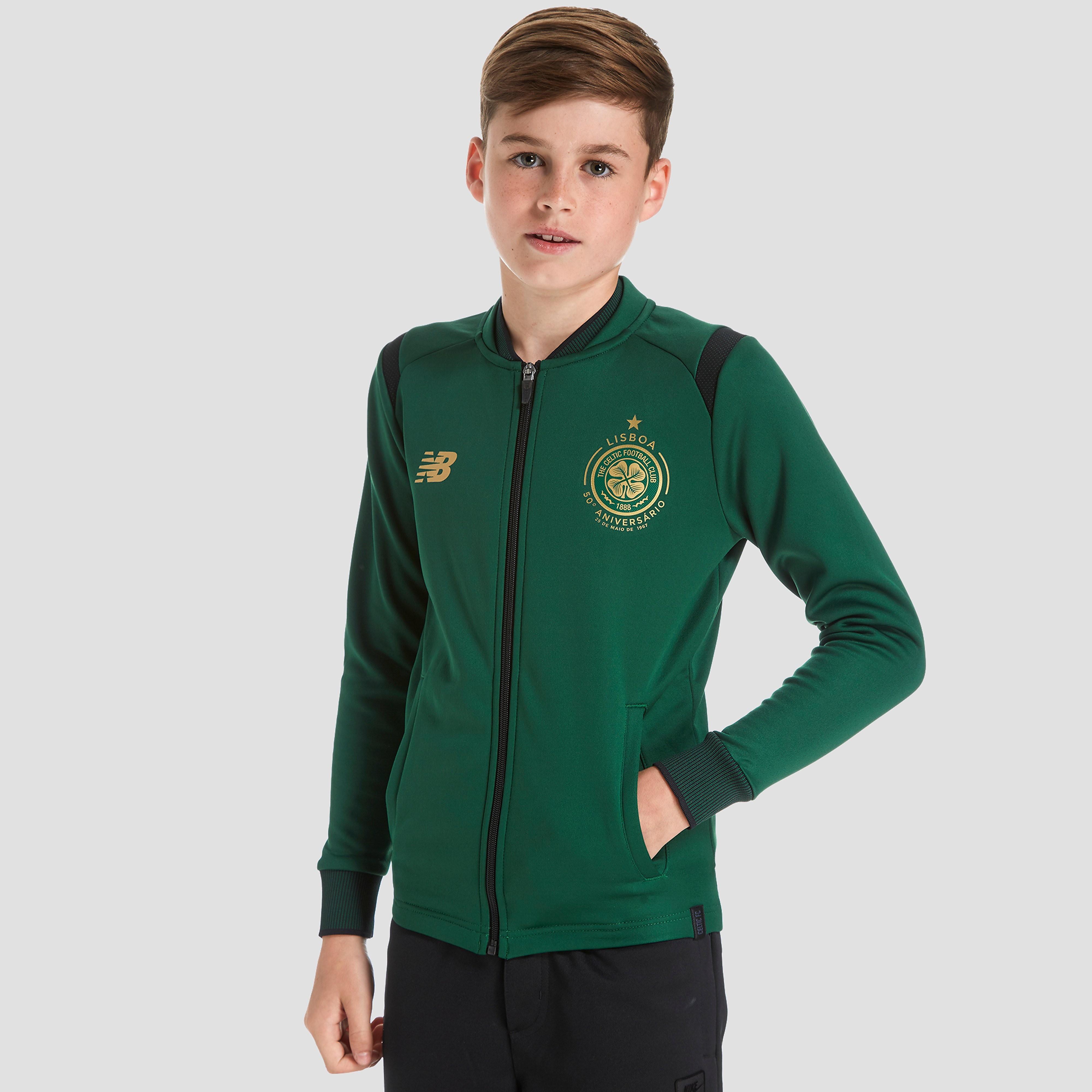 New Balance Celtic FC Walk Out Jacket Junior